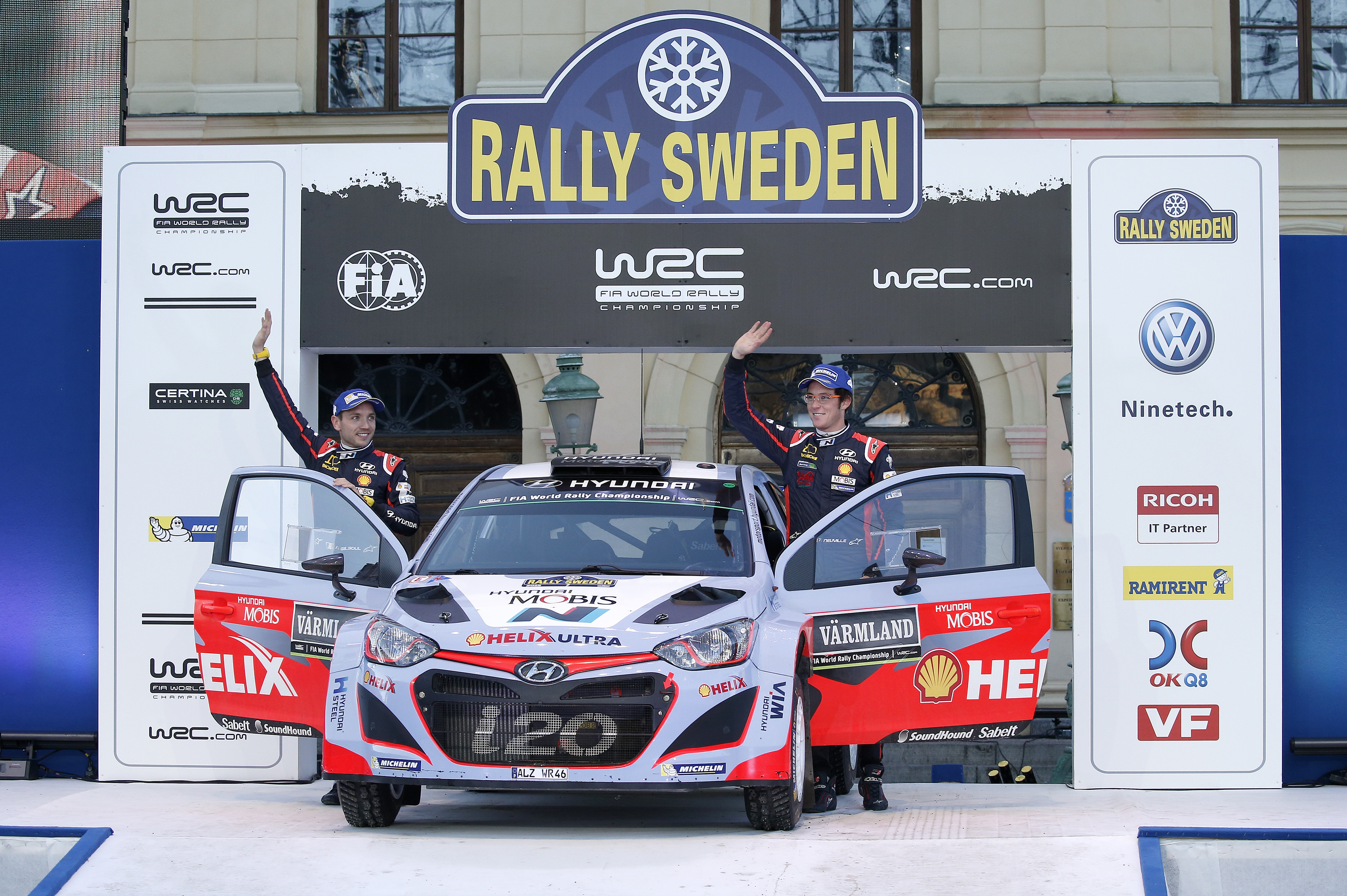FileThierry Neuville Rally Sweden Jpg Wikimedia Commons - Rally sweden map 2016