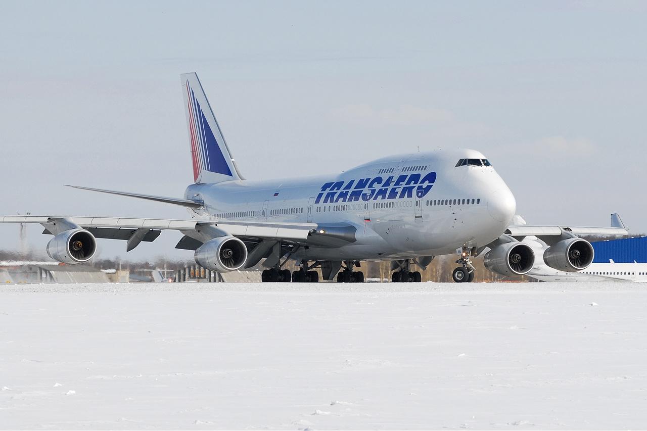 боинг-747 трансаэро фото