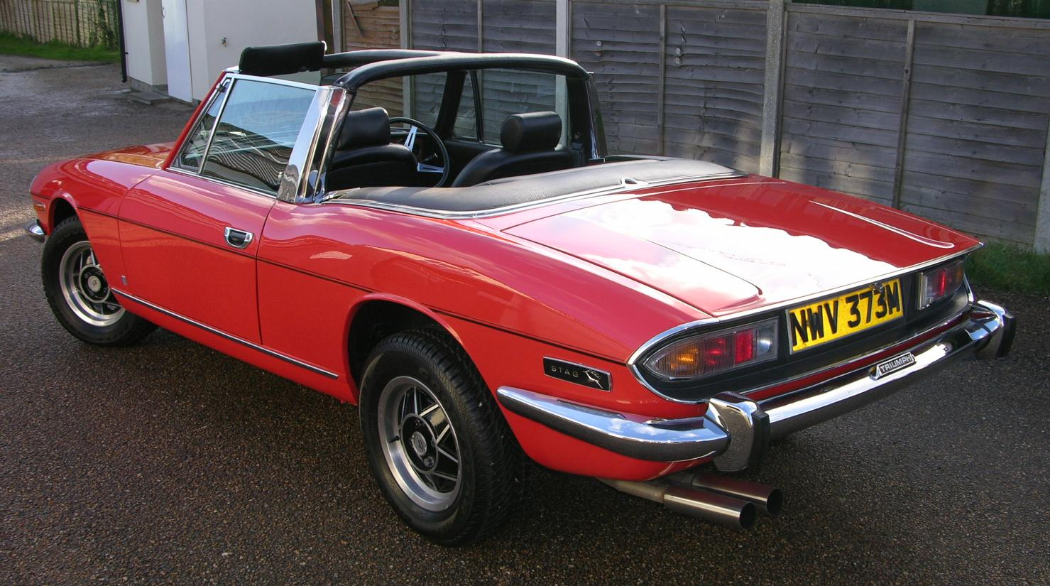 Triumph Stag Cars For Sale Uk