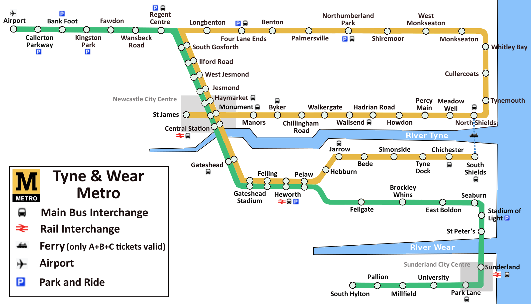 Trains Newcastle(Metro) to Dublin Ferryport | Cheap Tickets