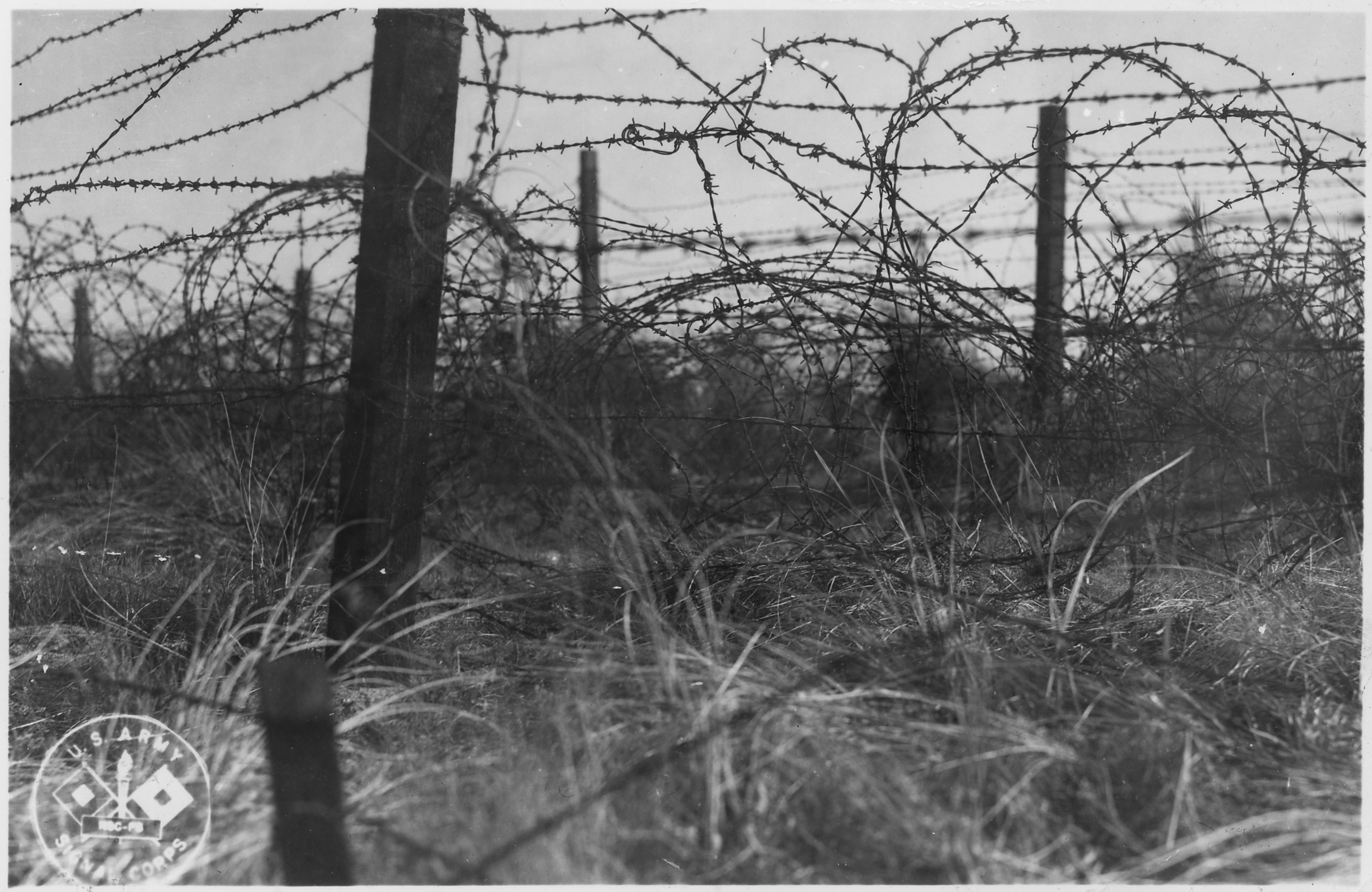File typical barbed wire entaglements hdc nara