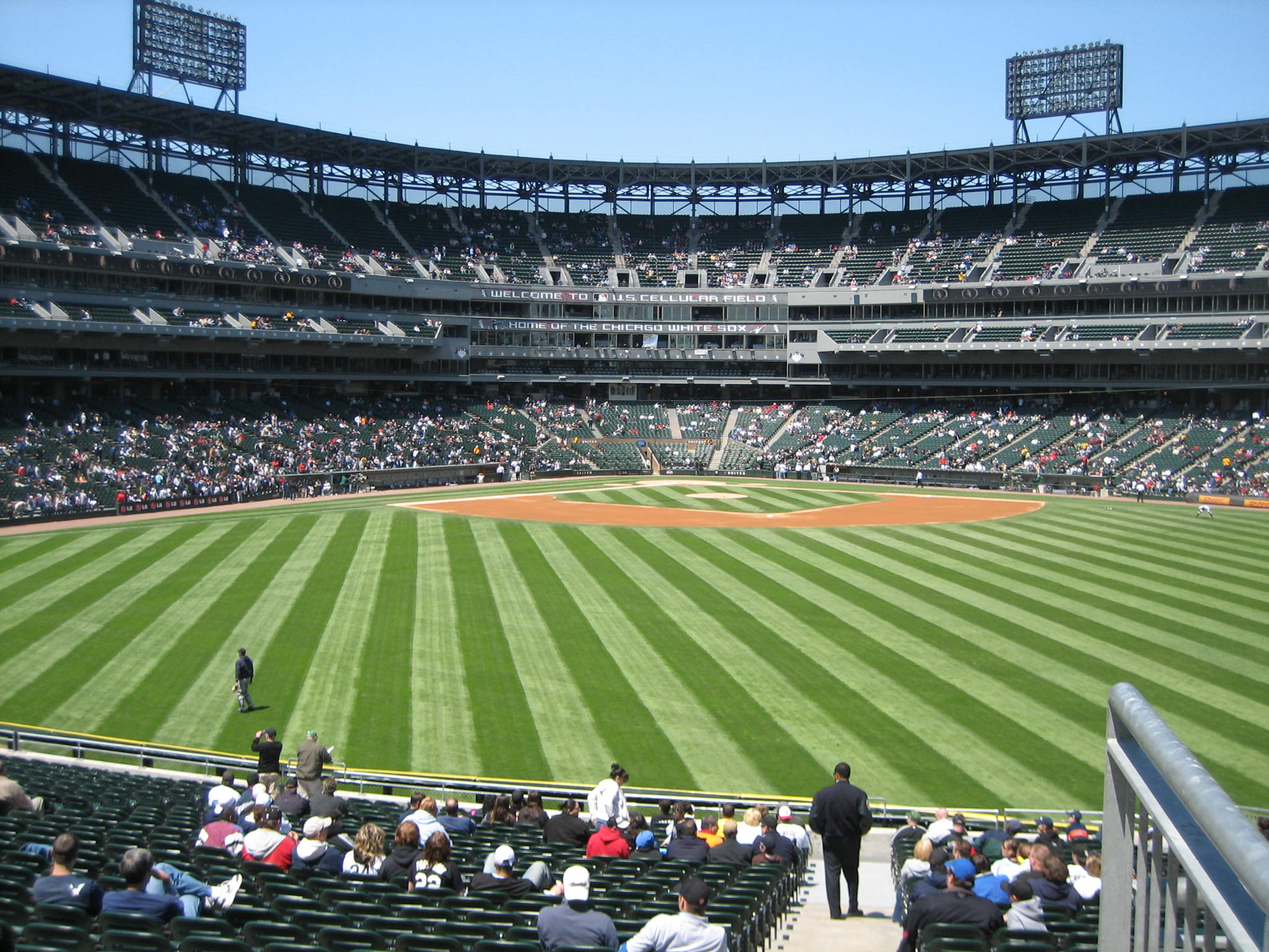 Cellular One Field U.s Cellular Field Before a