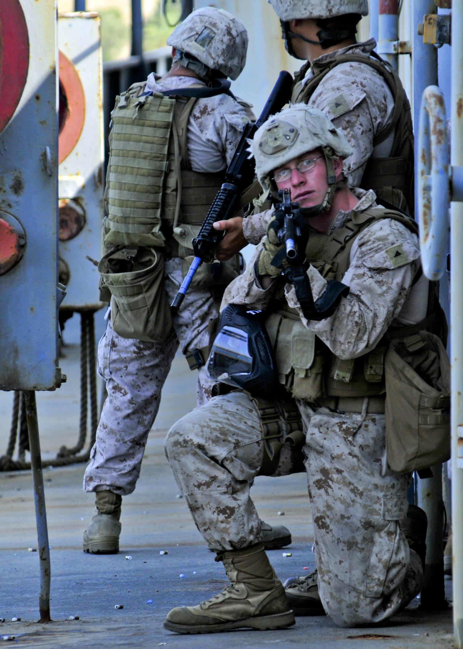 us marine corps security forces