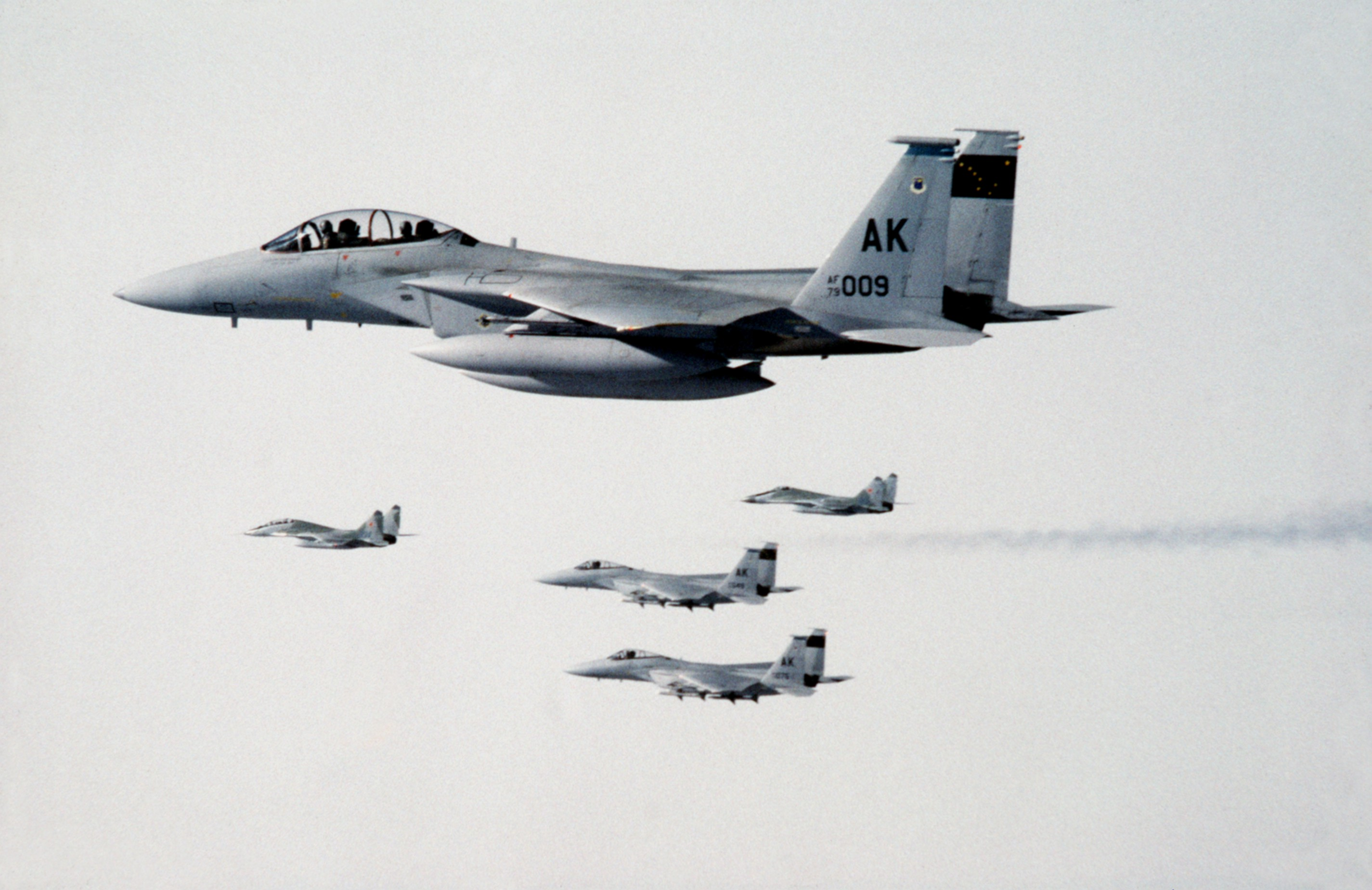 US_F-15s_and_Soviet_MiG-29s_over_Alaska_