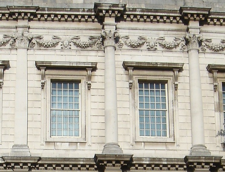 File Upper Storey Facade Banqueting House Jpg Wikimedia Commons