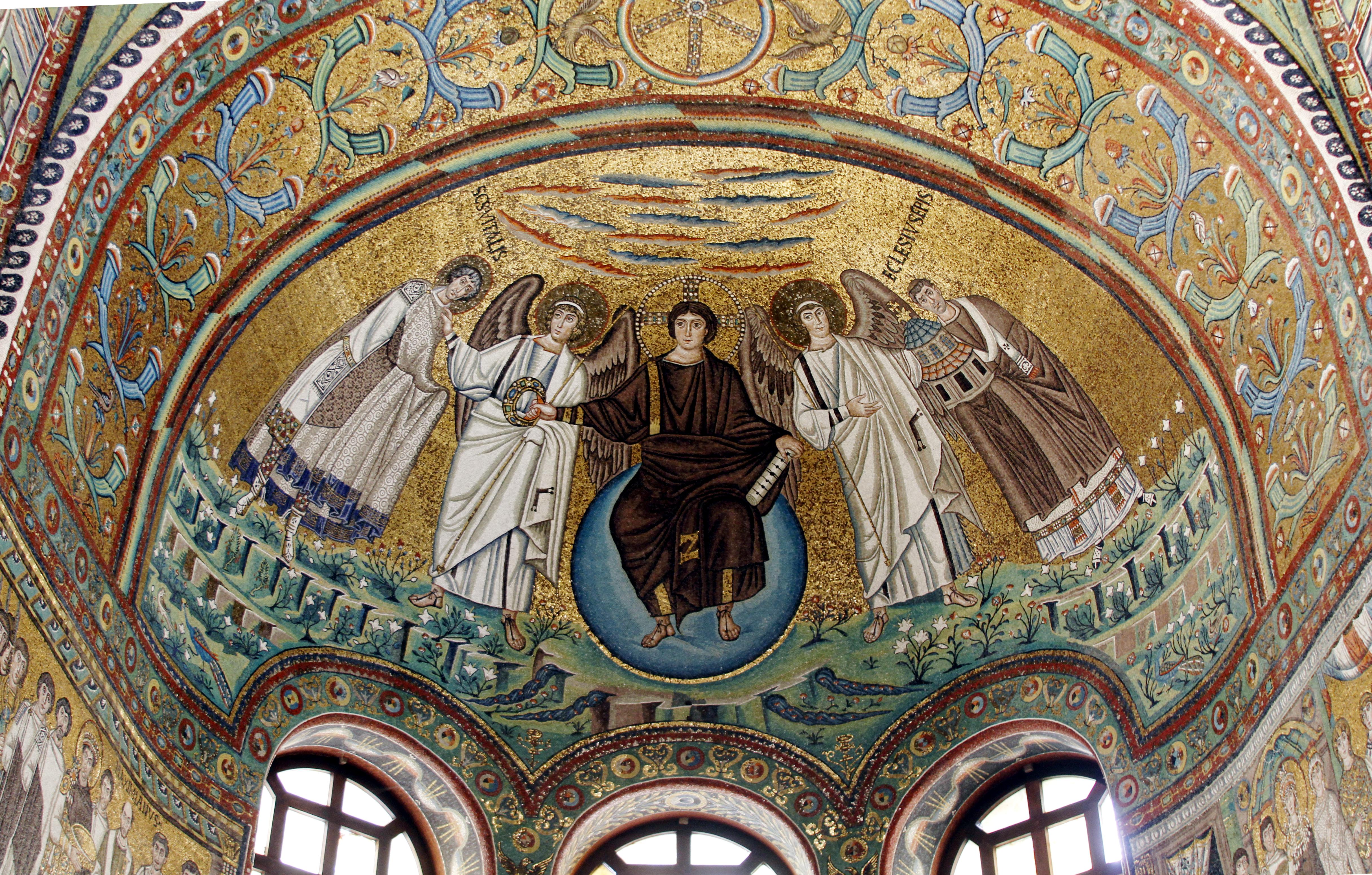 Vault mosaic - San Vitale - Ravenna 2016