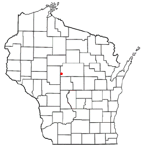 Location of Spencer (town), Wisconsin