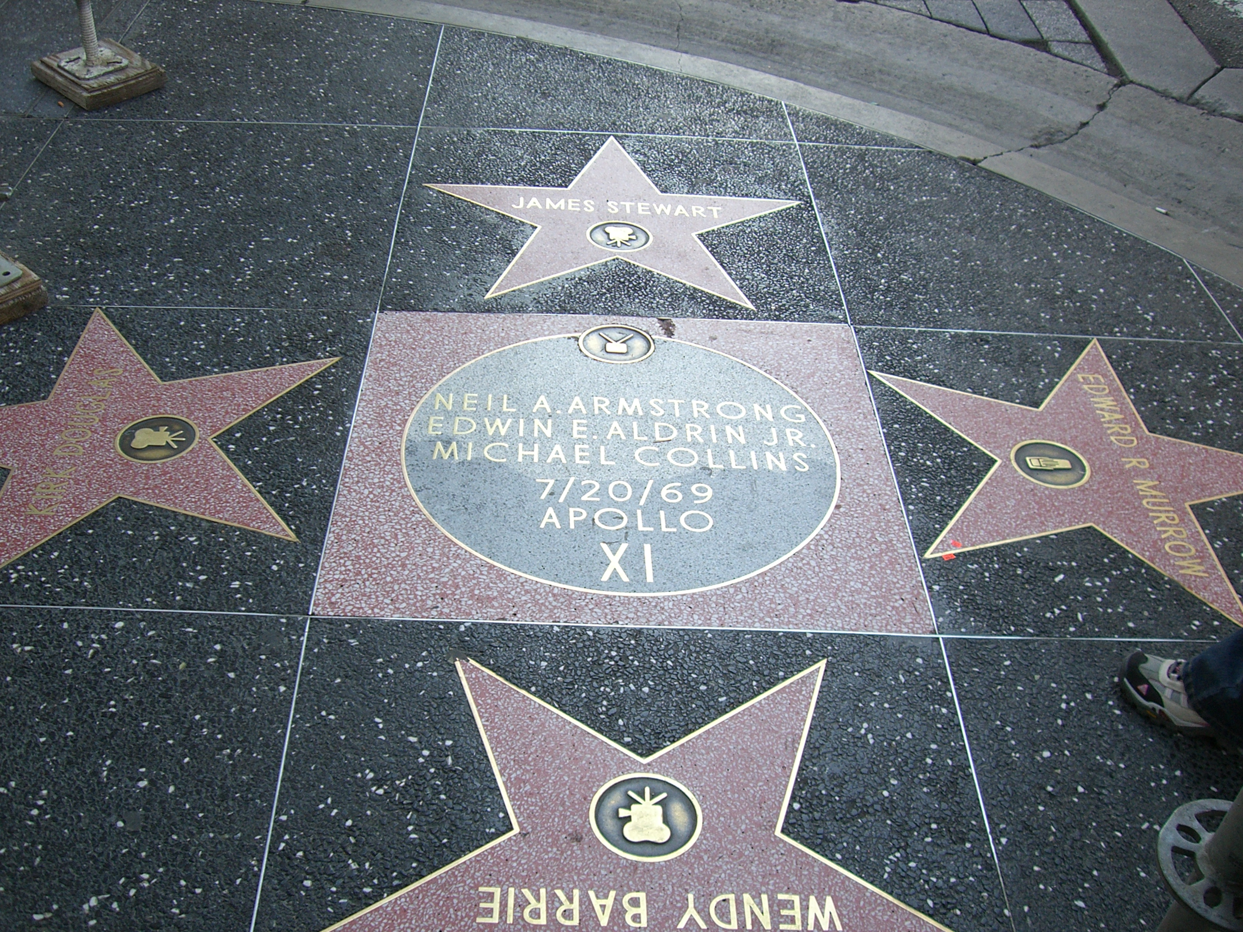 Filewalk Of Fame Los Angeles California4348jpg Wikimedia