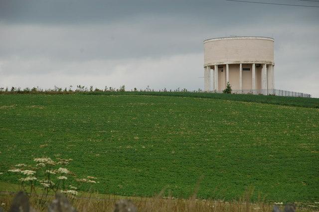 File:Water tower near Donaghadee - geograph.org.uk - 197771.jpg