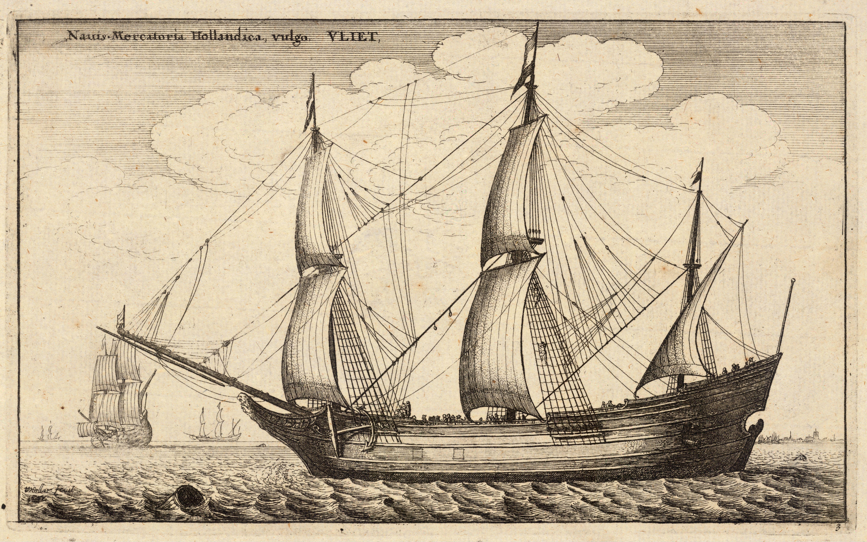 Dutch fluyt, 1677.