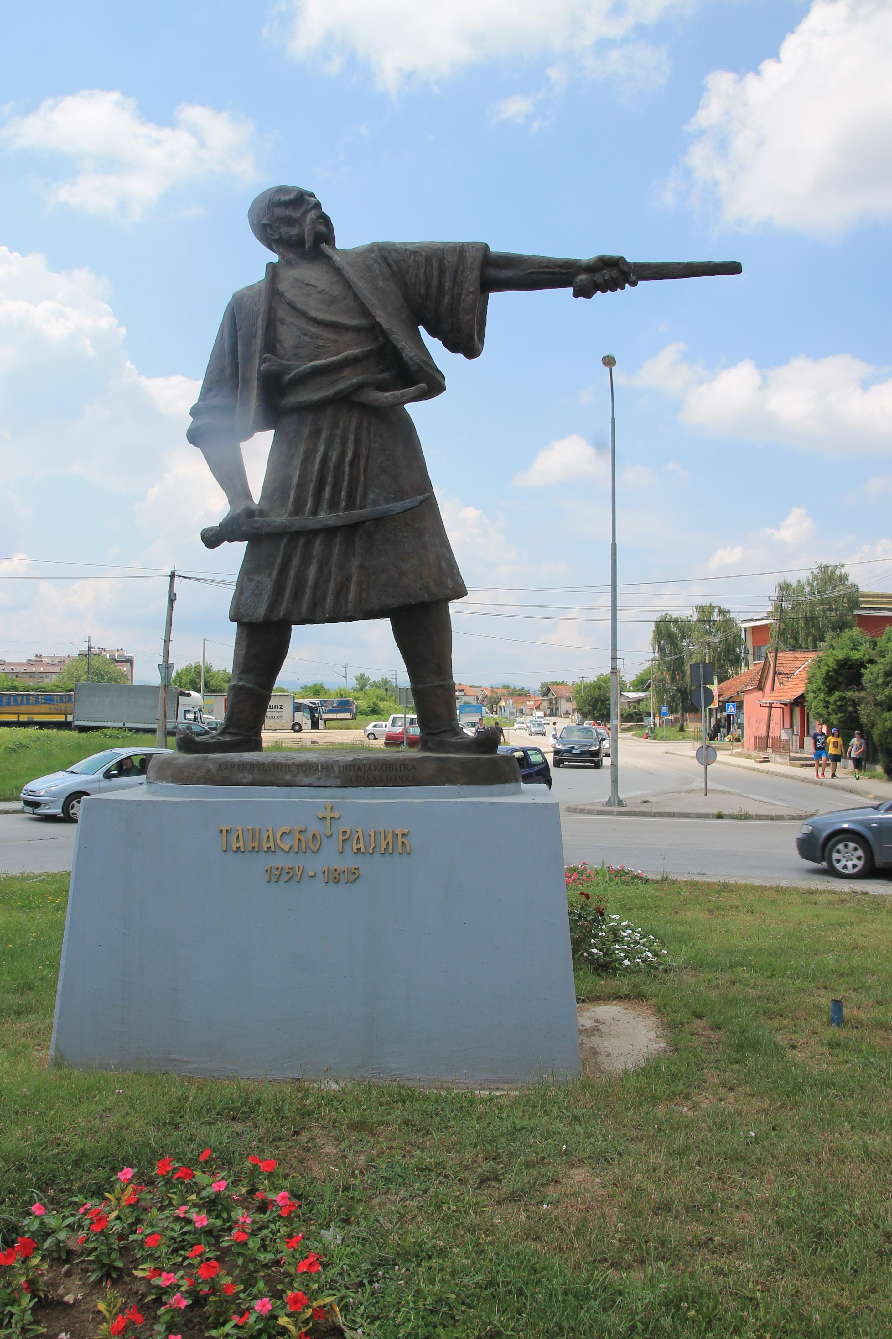Spomenik Tanasku Rajicu Vikipedija Slobodna Enciklopedija