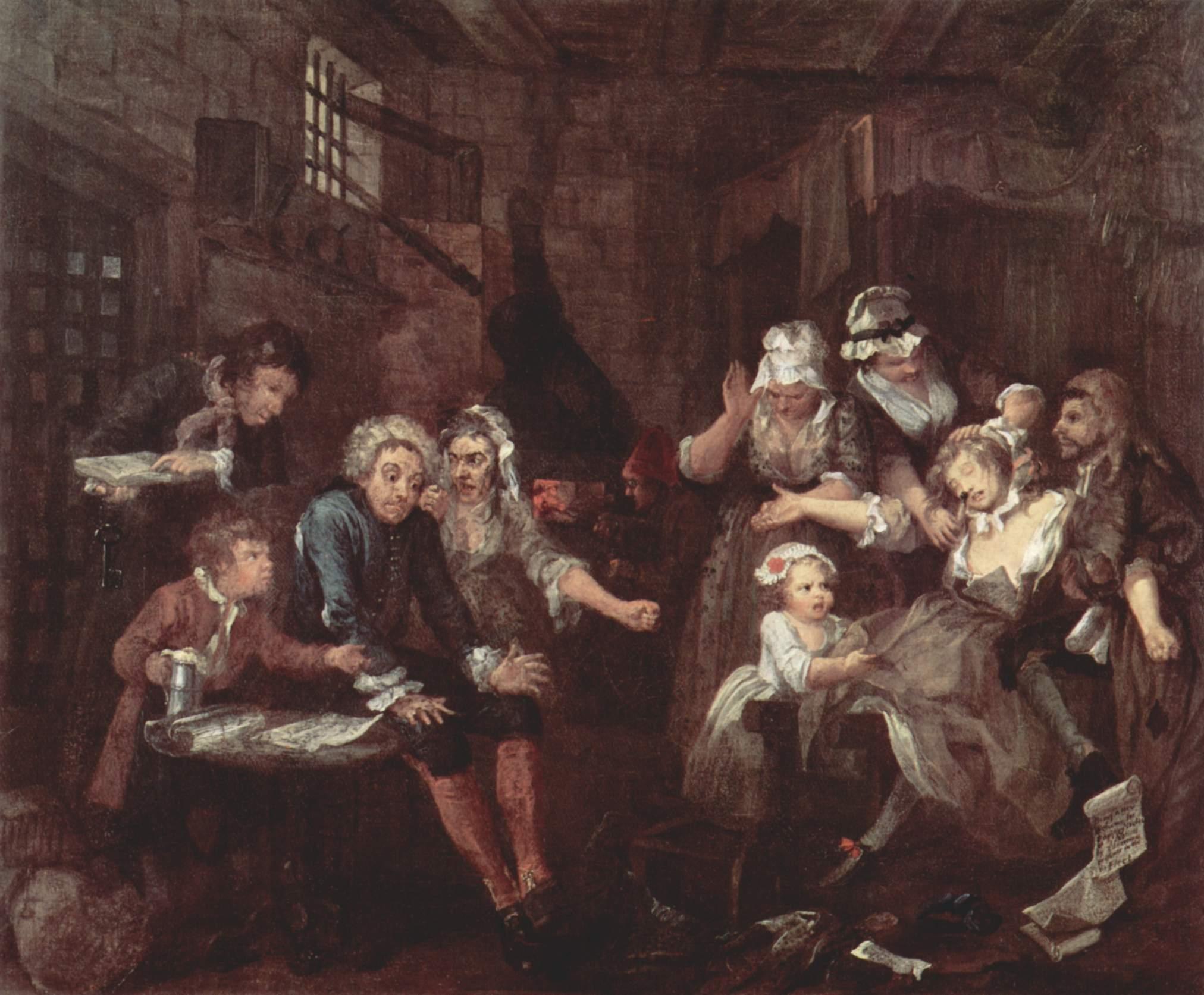 William Hogarth Rake's Progress