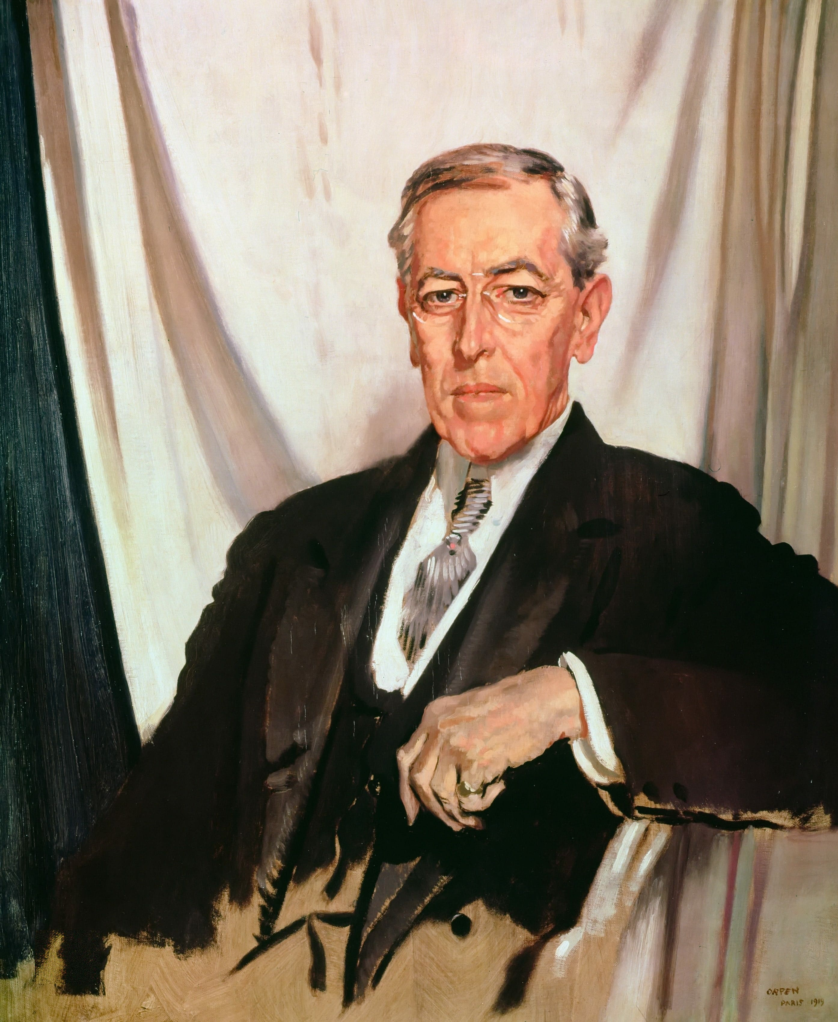 woodrow wilson Woodrow wilson's ghost in the age of donald trump  of us intervention in  world war i, which president woodrow wilson asked congress.