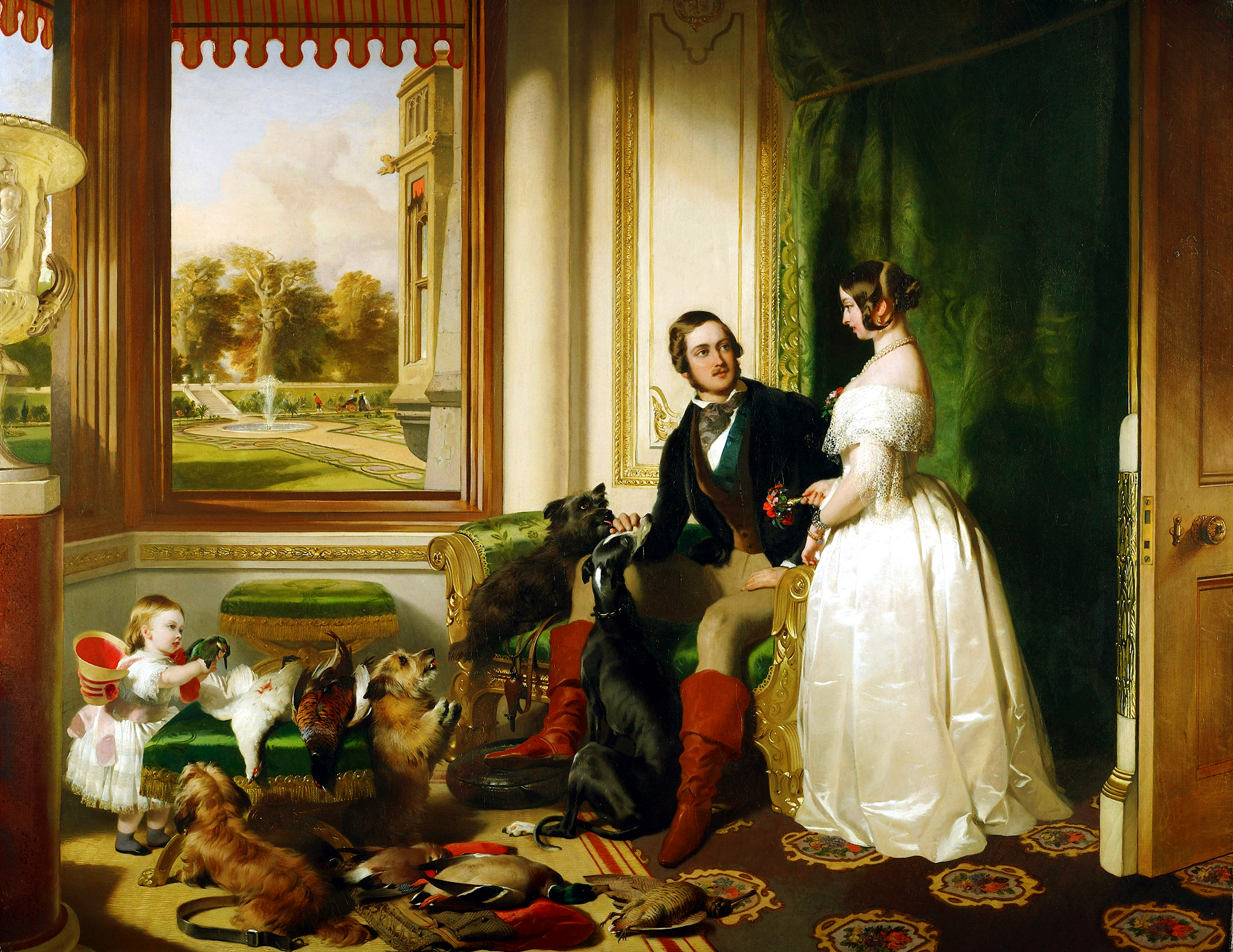 Windsor castle in modern times an introduction to 19th for La regina anne house
