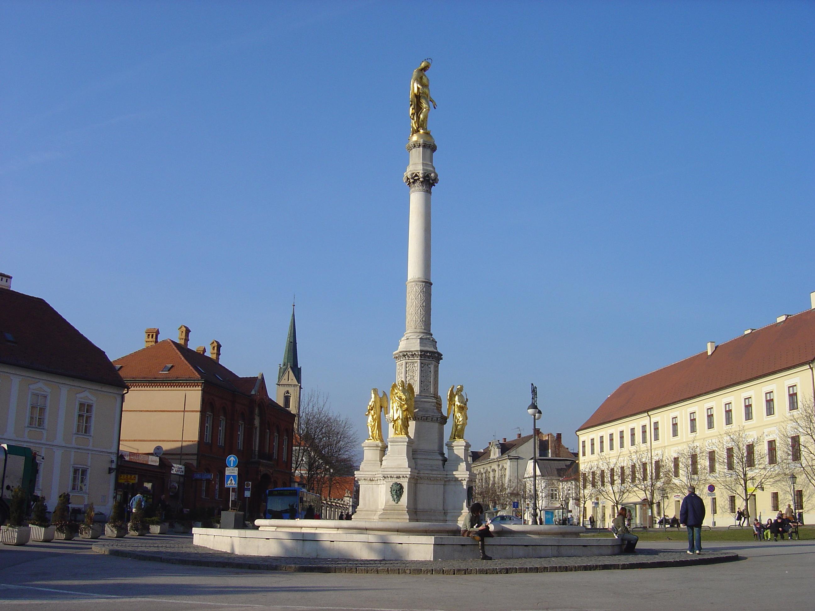 Zagreb Croatia  city photos gallery : Description Zagreb Kaptol Square