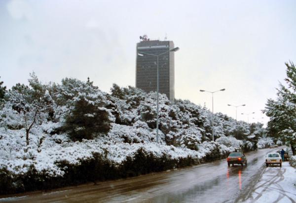 אוניברסיטת חיפה, שד' אבא חושי בשלג