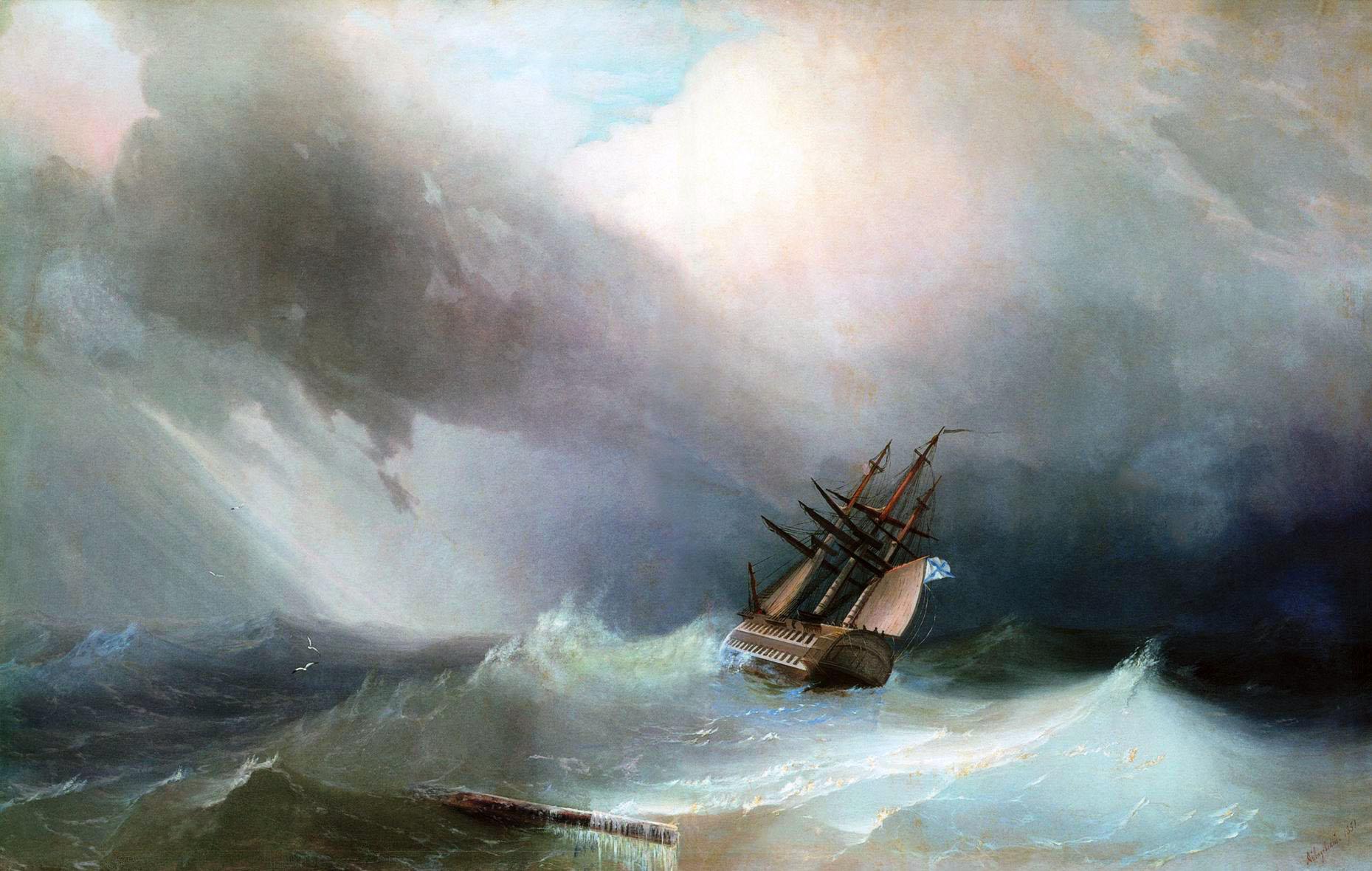 Файл:Буря Айвазовский.jpg — Википедия