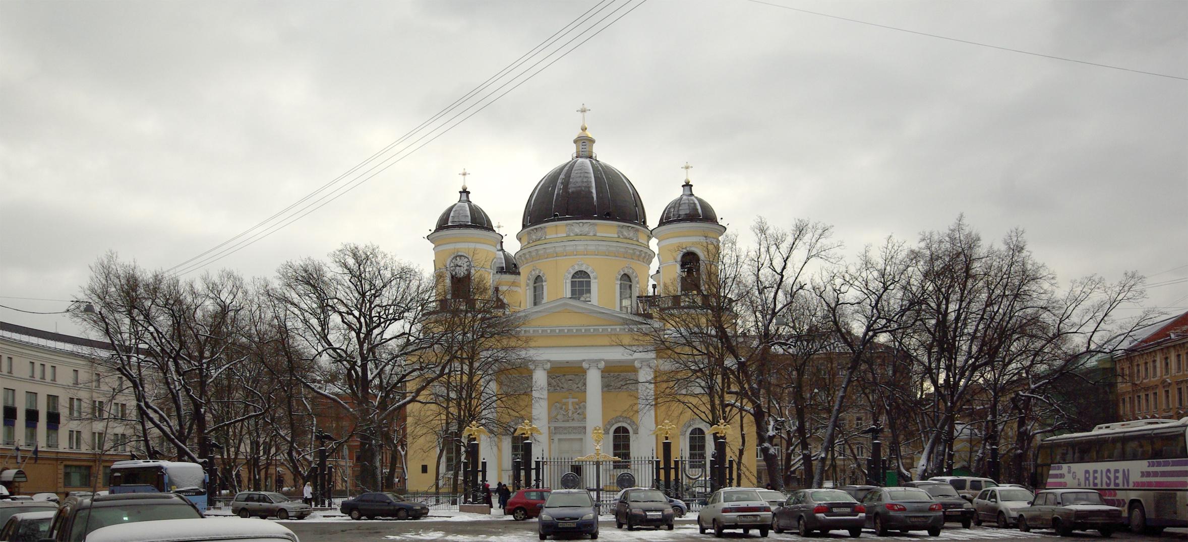 主显圣容主教座堂 (圣彼得堡)