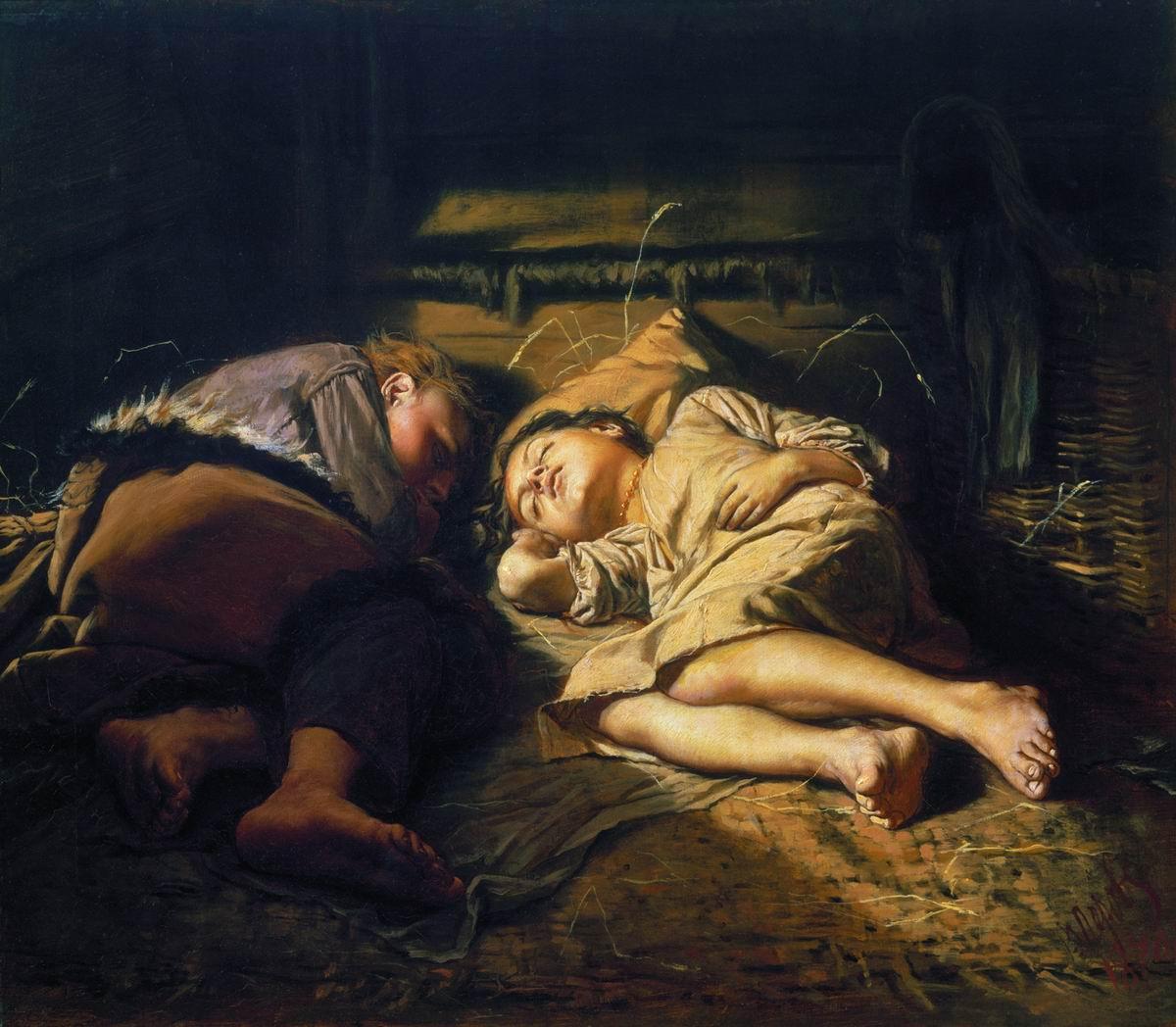 Фото спящих русское 17 фотография