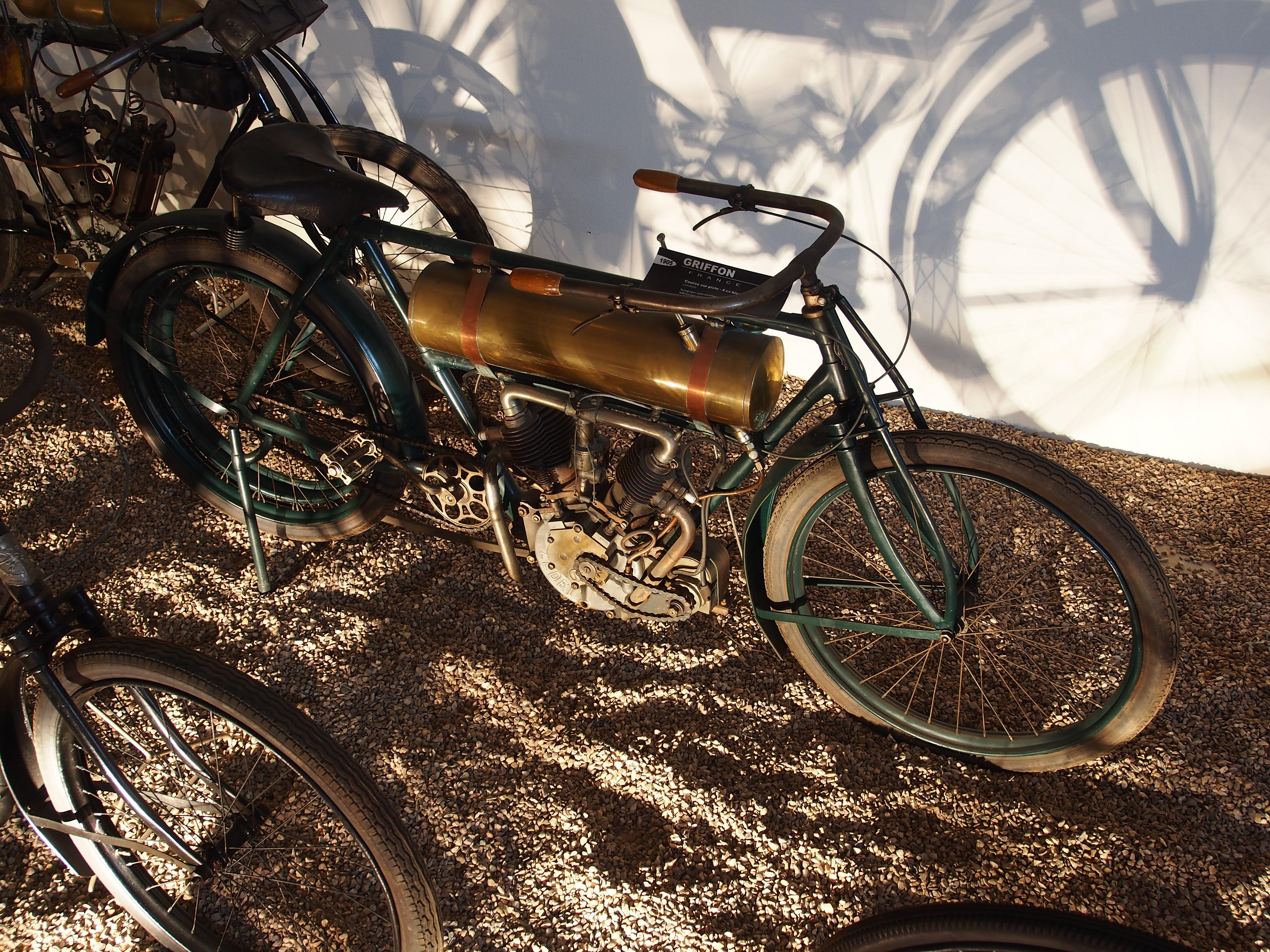 file 1905 griffon  course sur piste  4cv  mus u00e9e de la moto et du v u00e9lo  amneville  france  pic