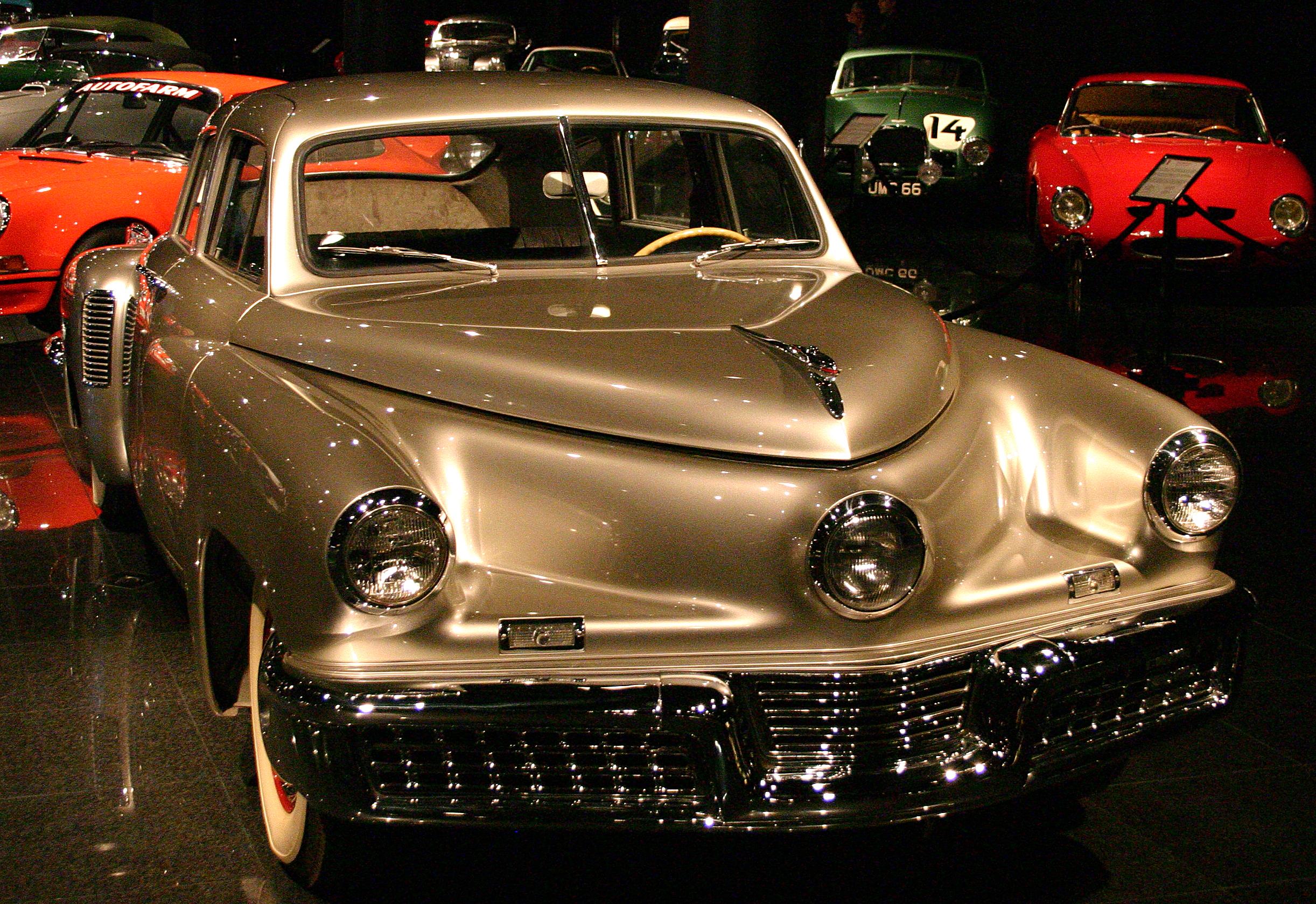 Blackhawk Car Museum >> File 1948 Tucker Sedan At The Blackhawk Museum Jpg Wikimedia Commons