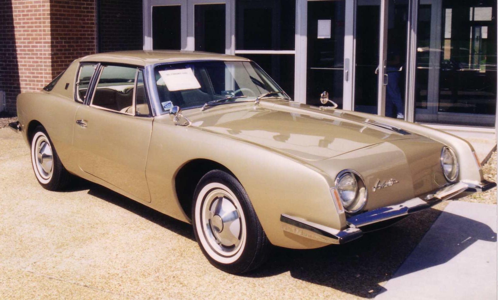 File 1963 Studebaker Avanti Gold At Concord University Jpg