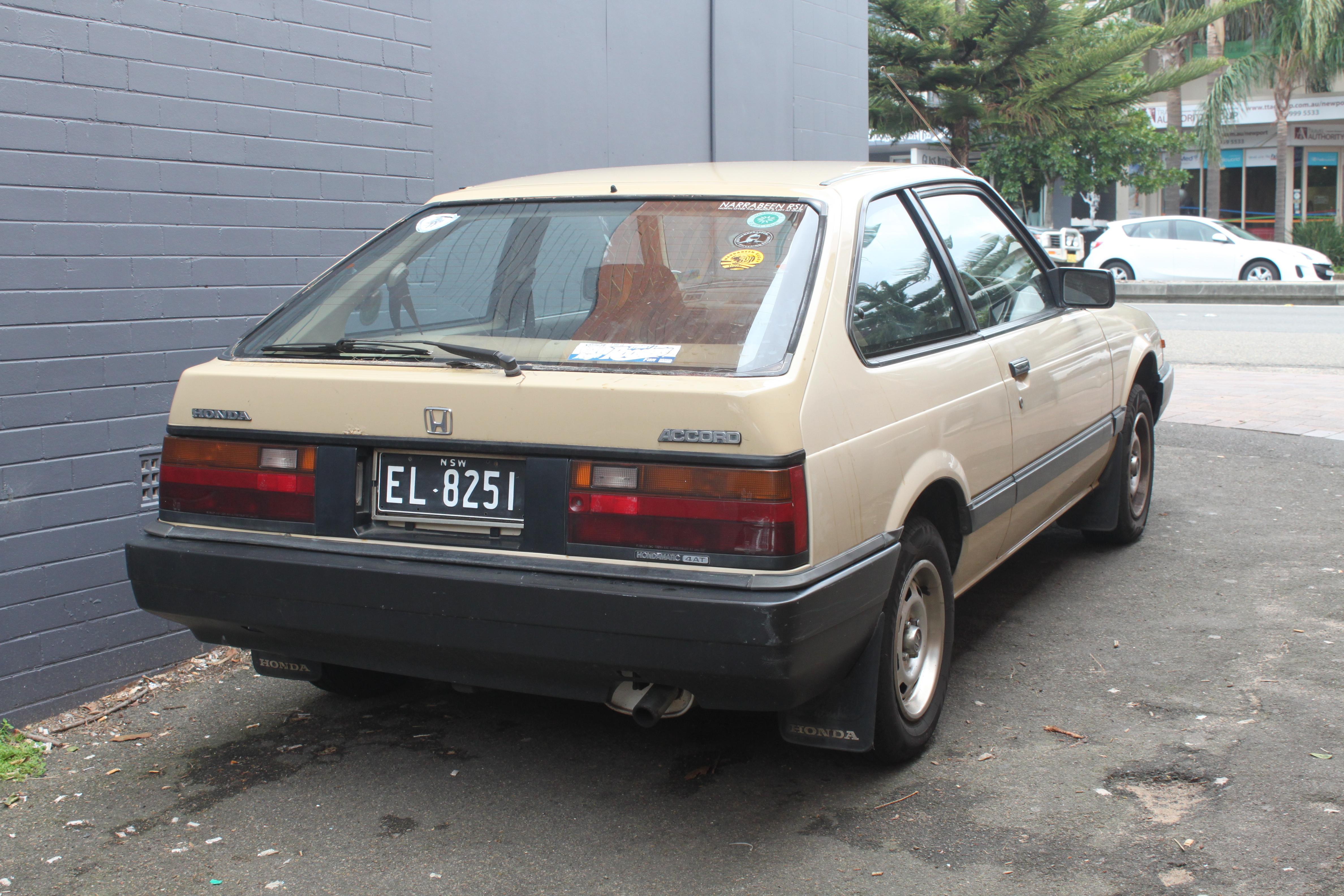 File 1984 Honda Accord Hatchback 20096914989 Jpg Wikimedia Commons