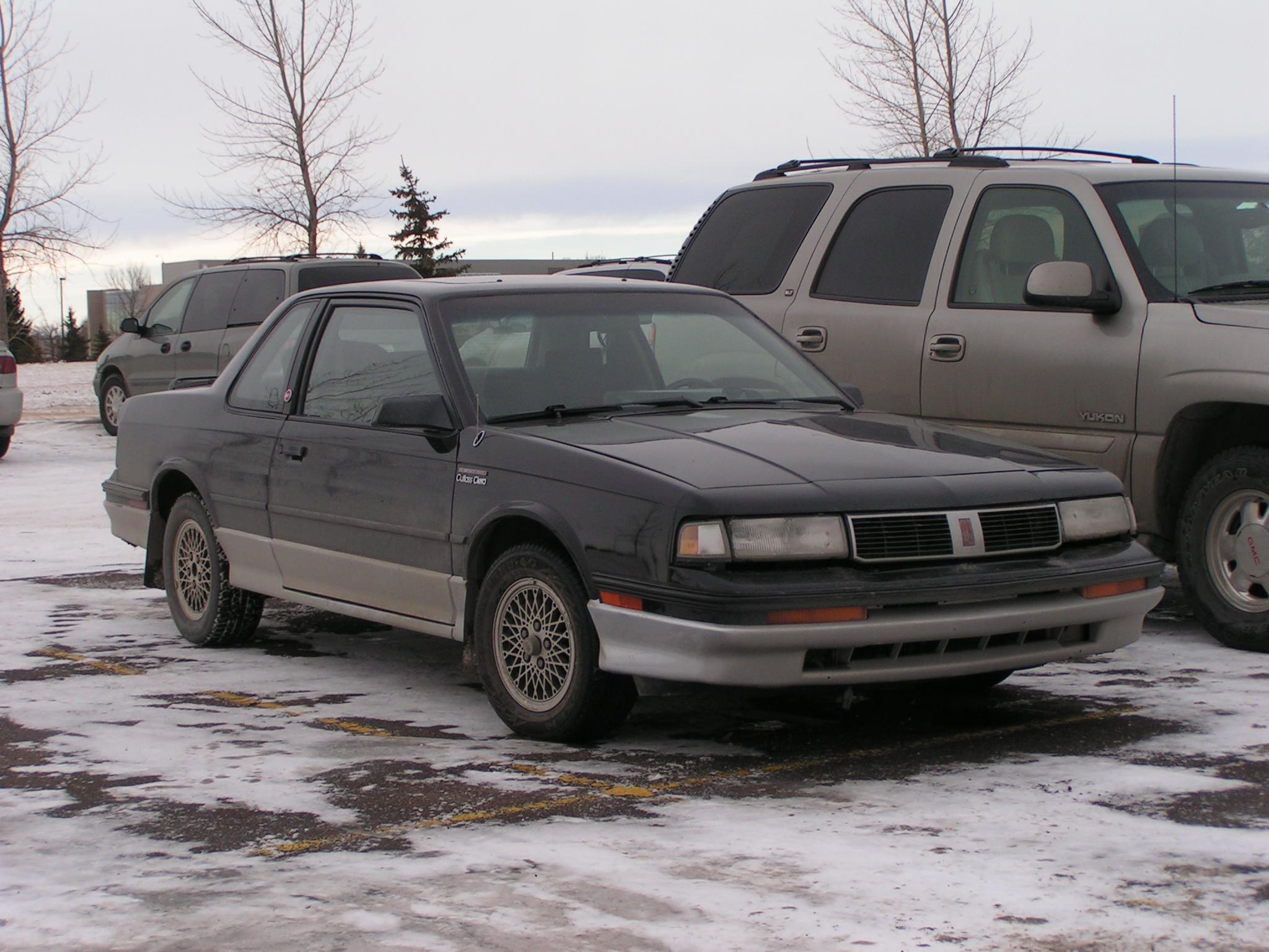 File1987 Oldsmobile Cutlass Ciera GT FE3 2220912711