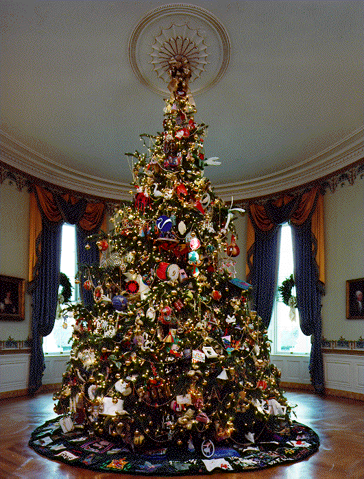 File:1994 Blue Room Christmas tree.png - Wikimedia Commons