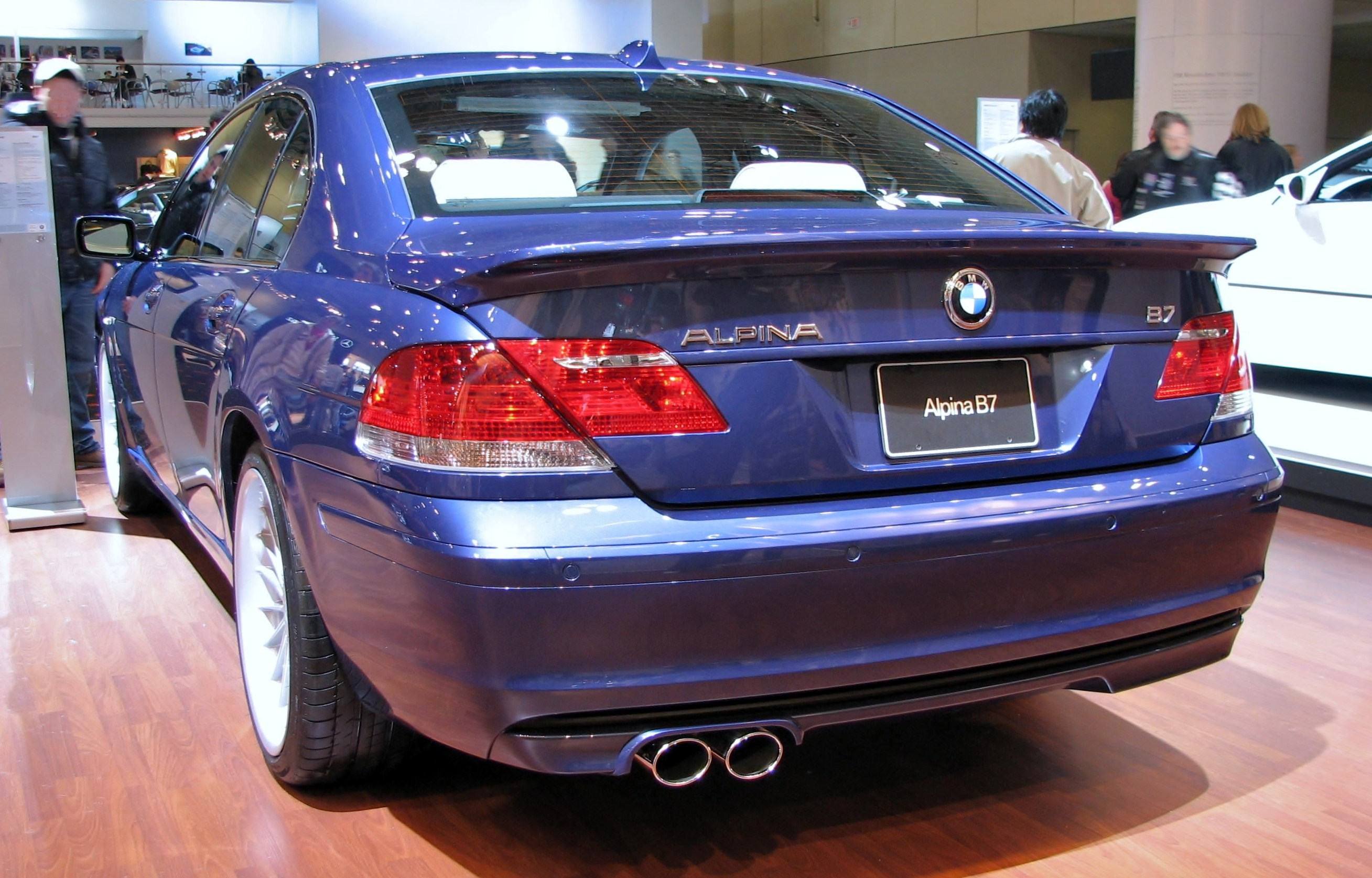 File BMW Alpina B E Sedanjpg Wikimedia Commons - Bmw m7 alpina