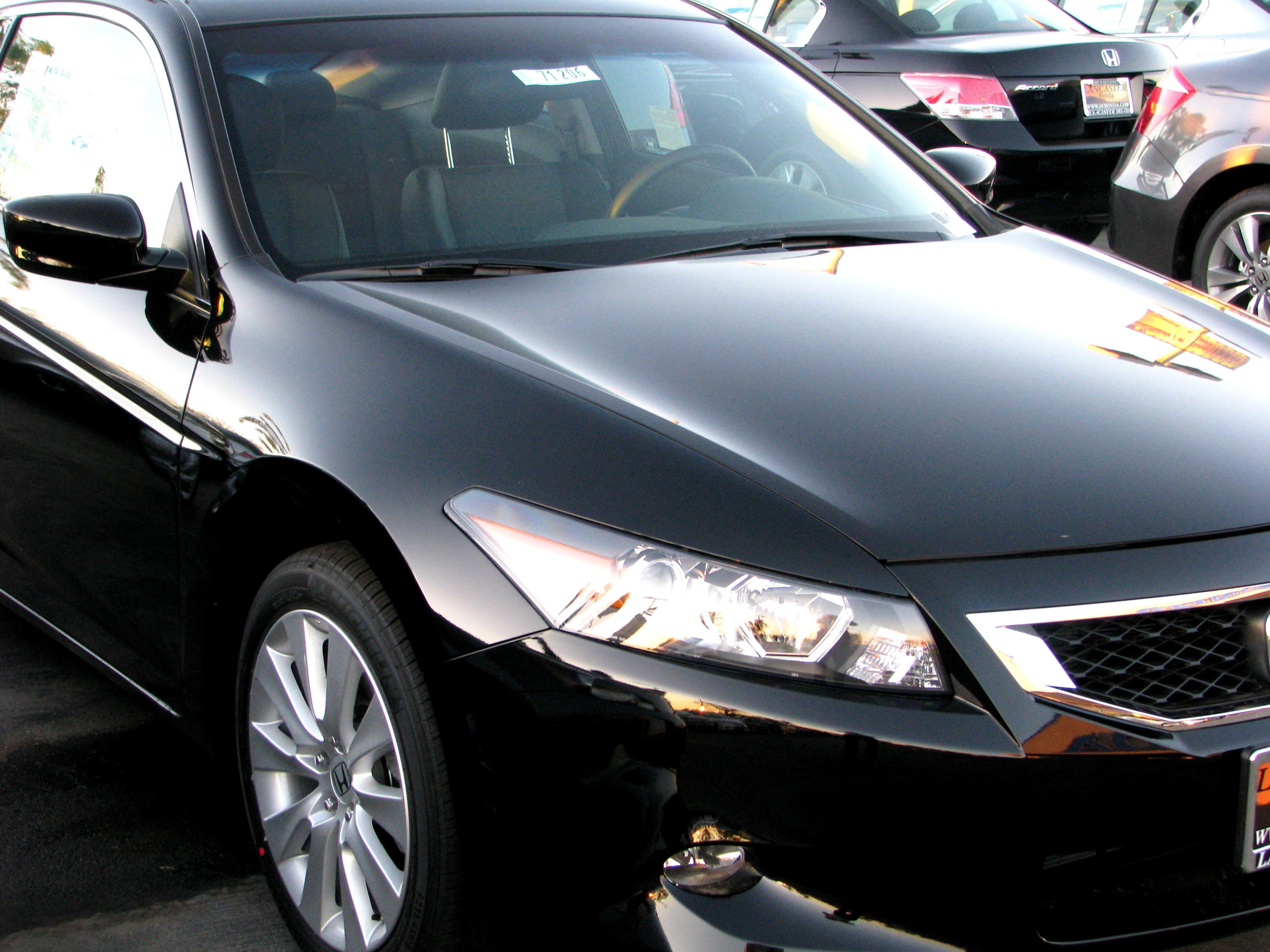 File:2009 Honda Accord Coupe (2954575247).jpg - Wikimedia Commons