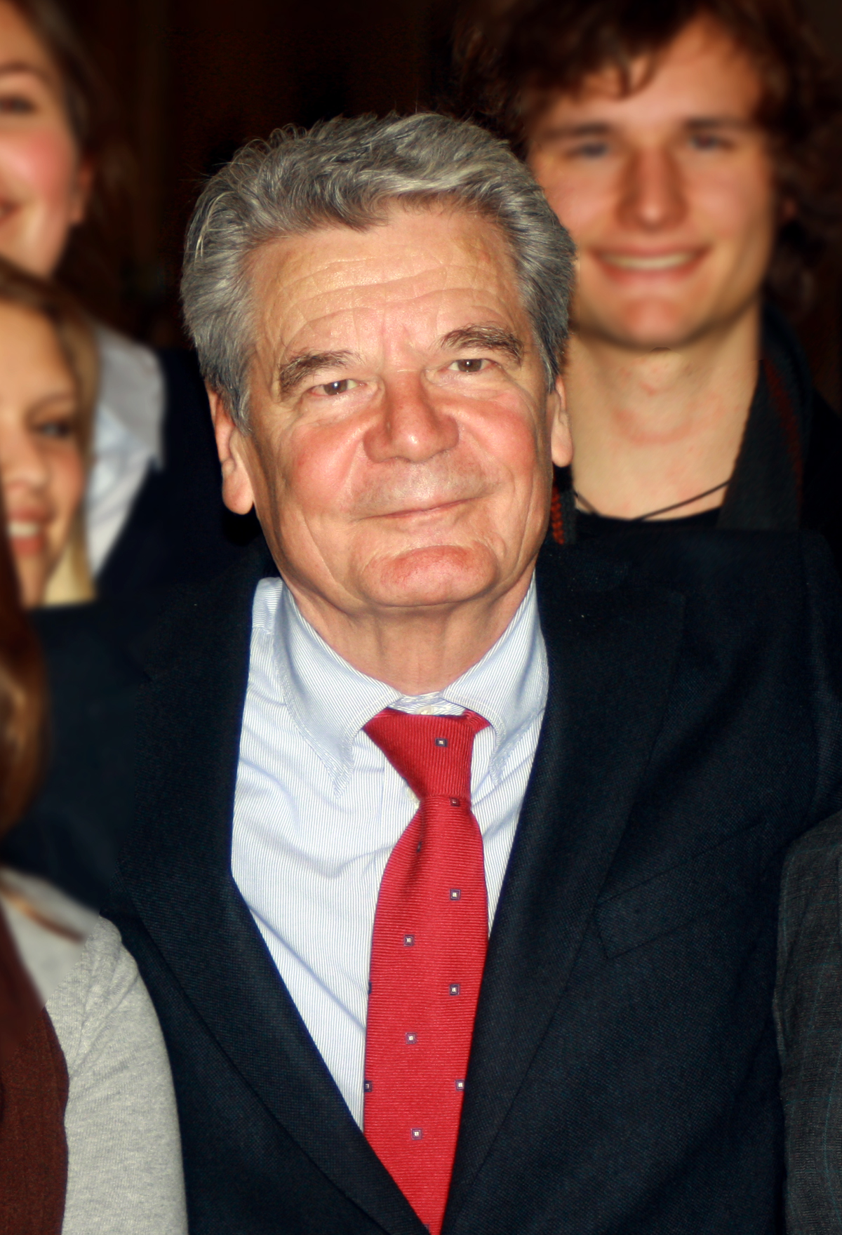 Joachim Gauck Größe