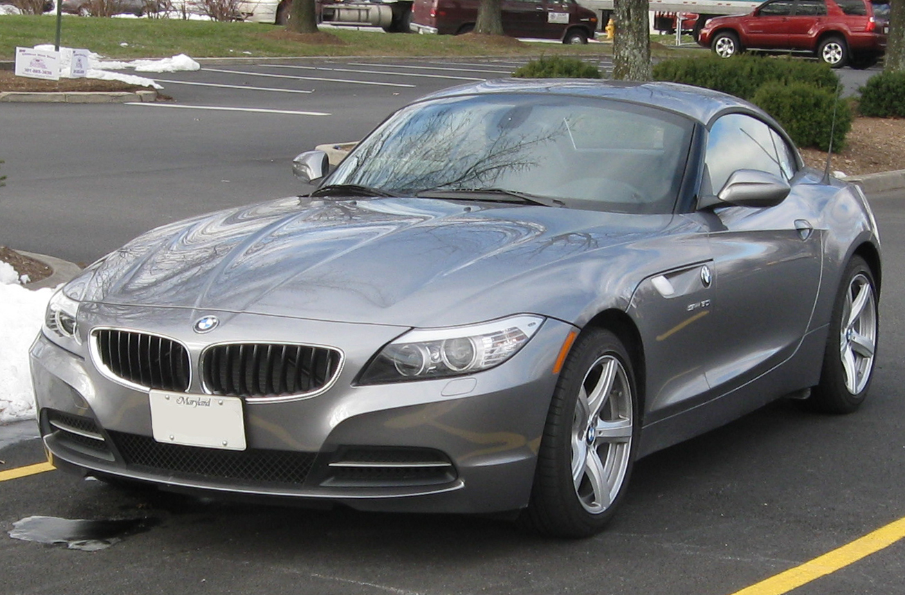 File 2010 Bmw Z4 2 01 06 2010 Jpg Wikimedia Commons