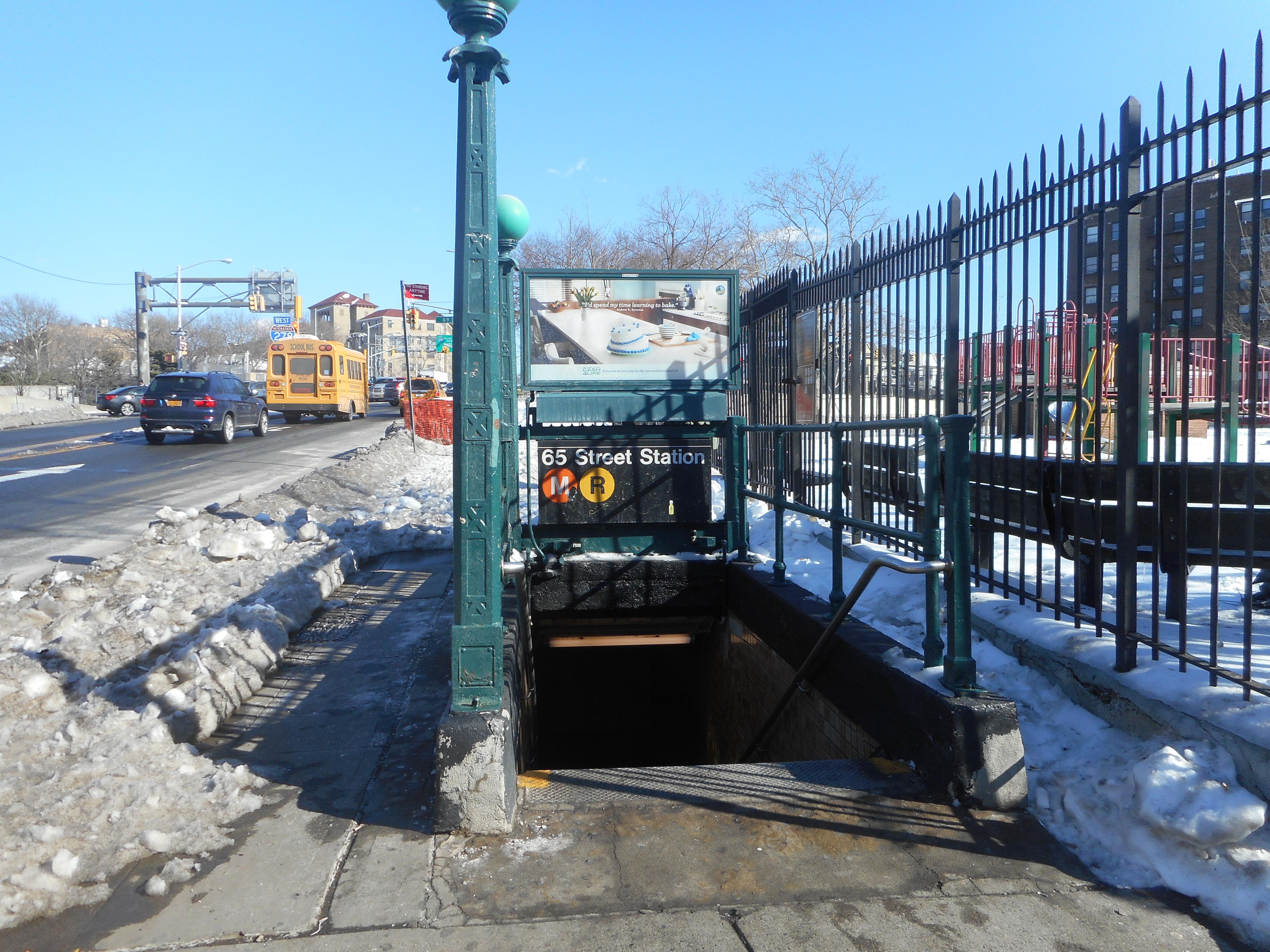 File65th Street SE Corner Broadway Entrance