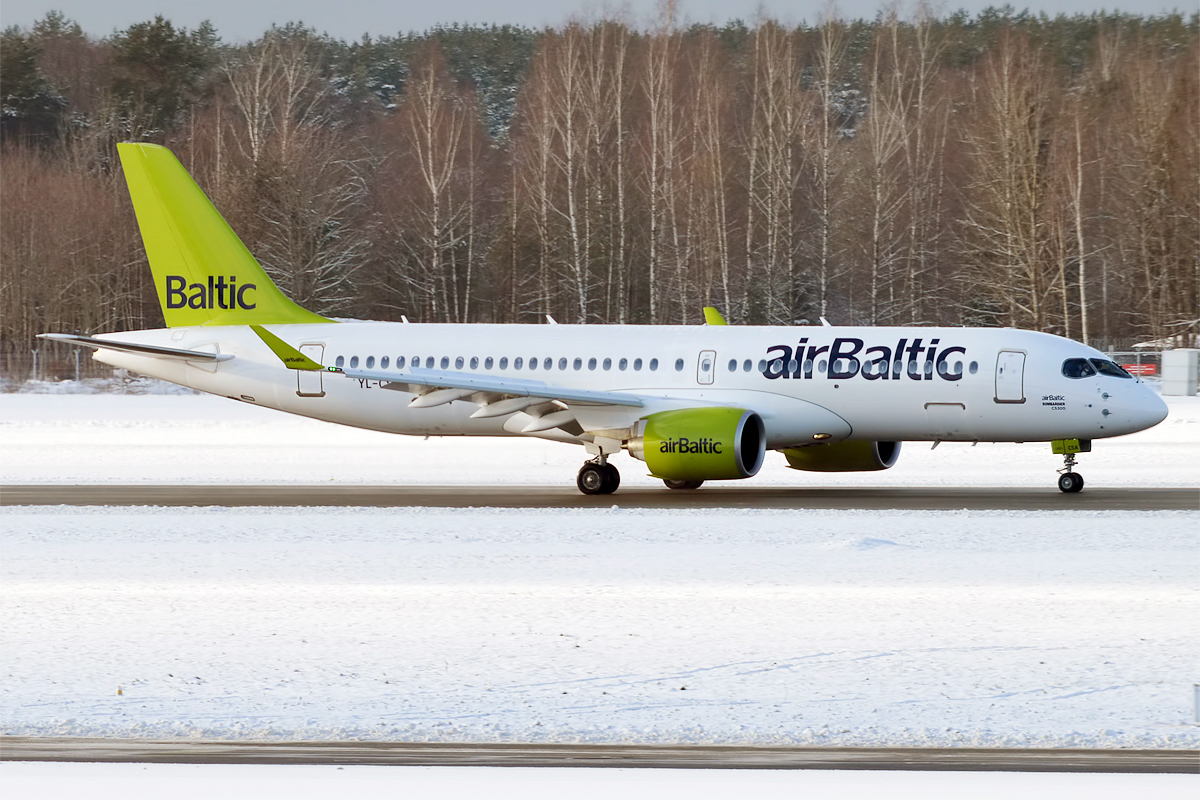 Bildresultat för air baltic a220