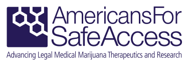 Image result for americans for safe access logo