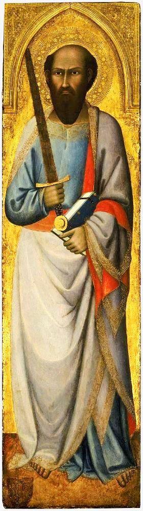 Апостол Павел (Андреа Ванни, 1390 год)