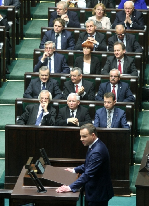 Правящая в Польше партия