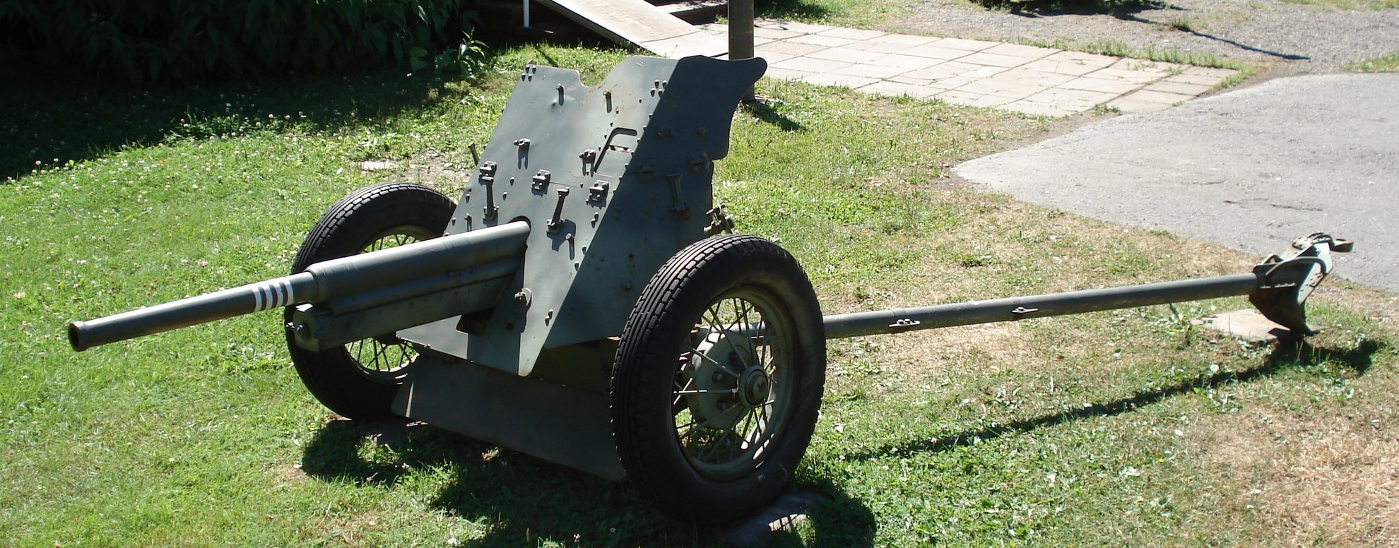 German 50 Mm Anti Tank Gun: File:Anti-tank Gun 45mm M1937 Parola 6.jpg