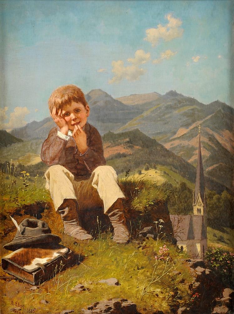 Anton Ebert Der kleine Schulschwänzer.jpg