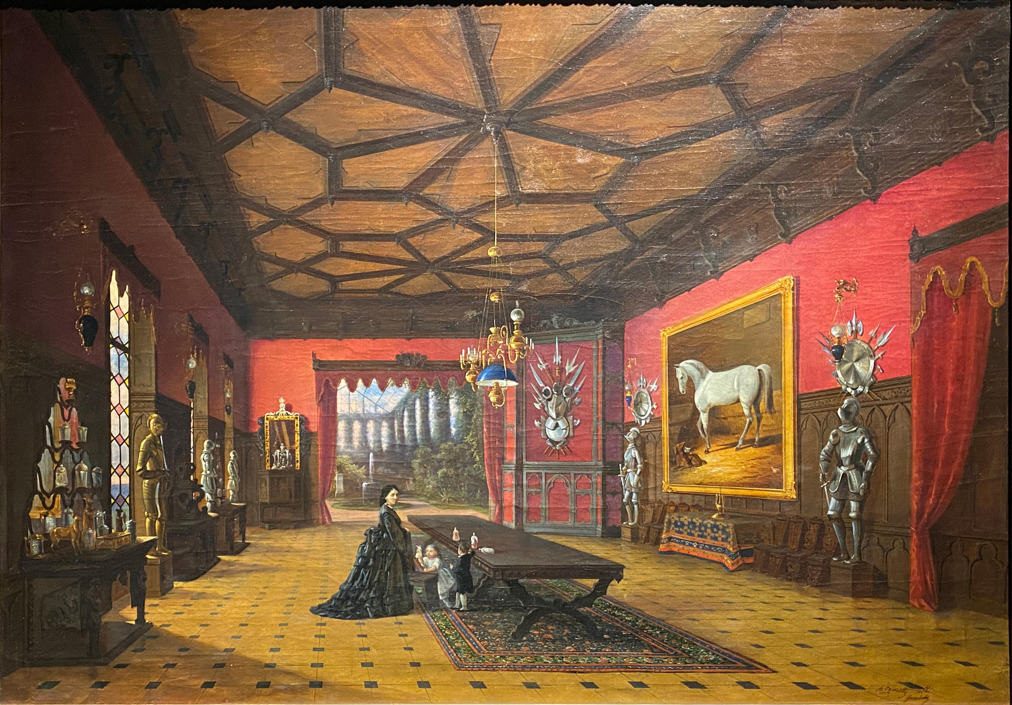 Astrašycki Haradok, Tyškievič. Астрашыцкі Гарадок, Тышкевіч (A. Žamet, 1872).jpg