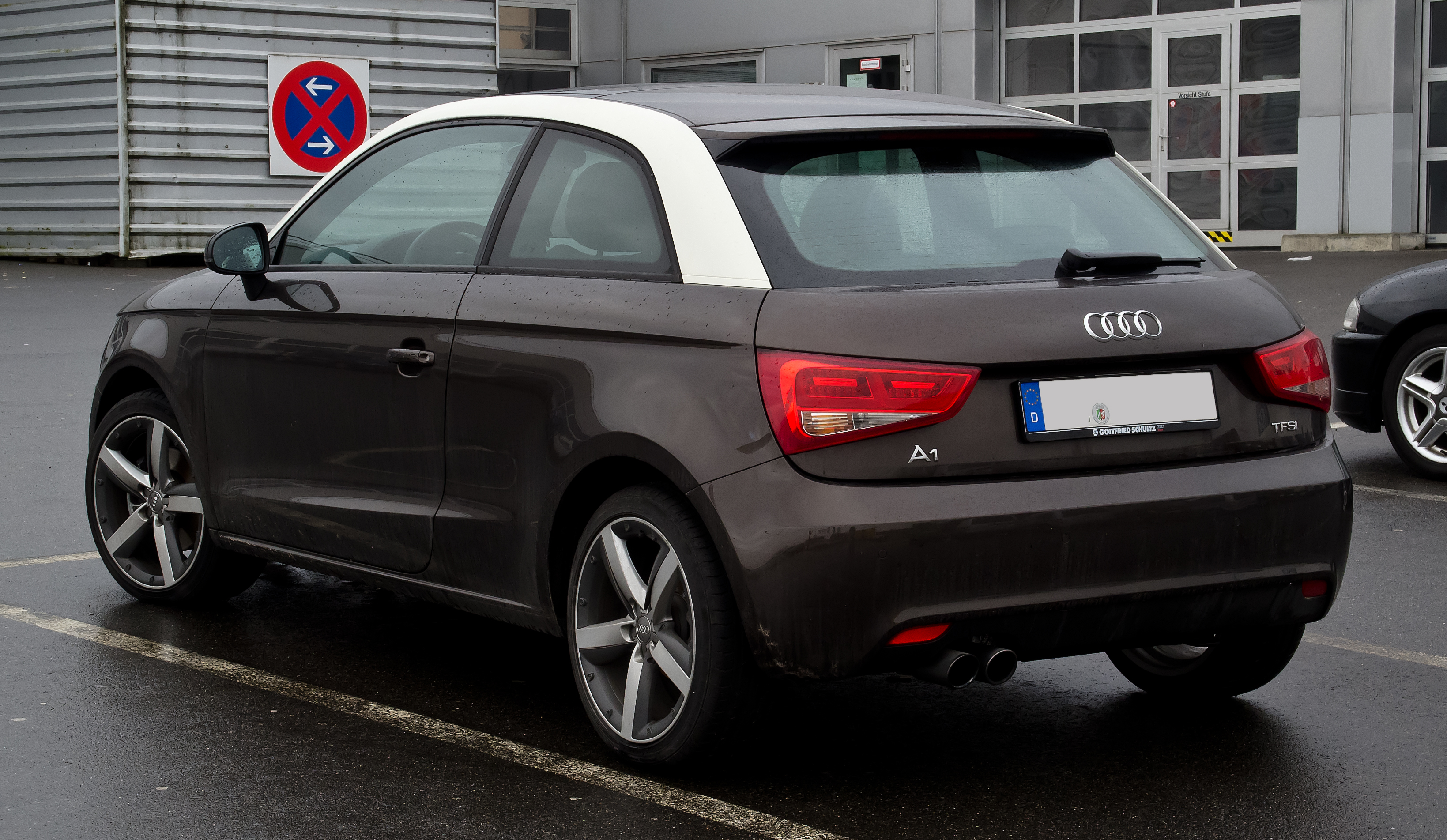 File Audi A1 1 4 Tfsi Ambition Heckansicht 26 Februar