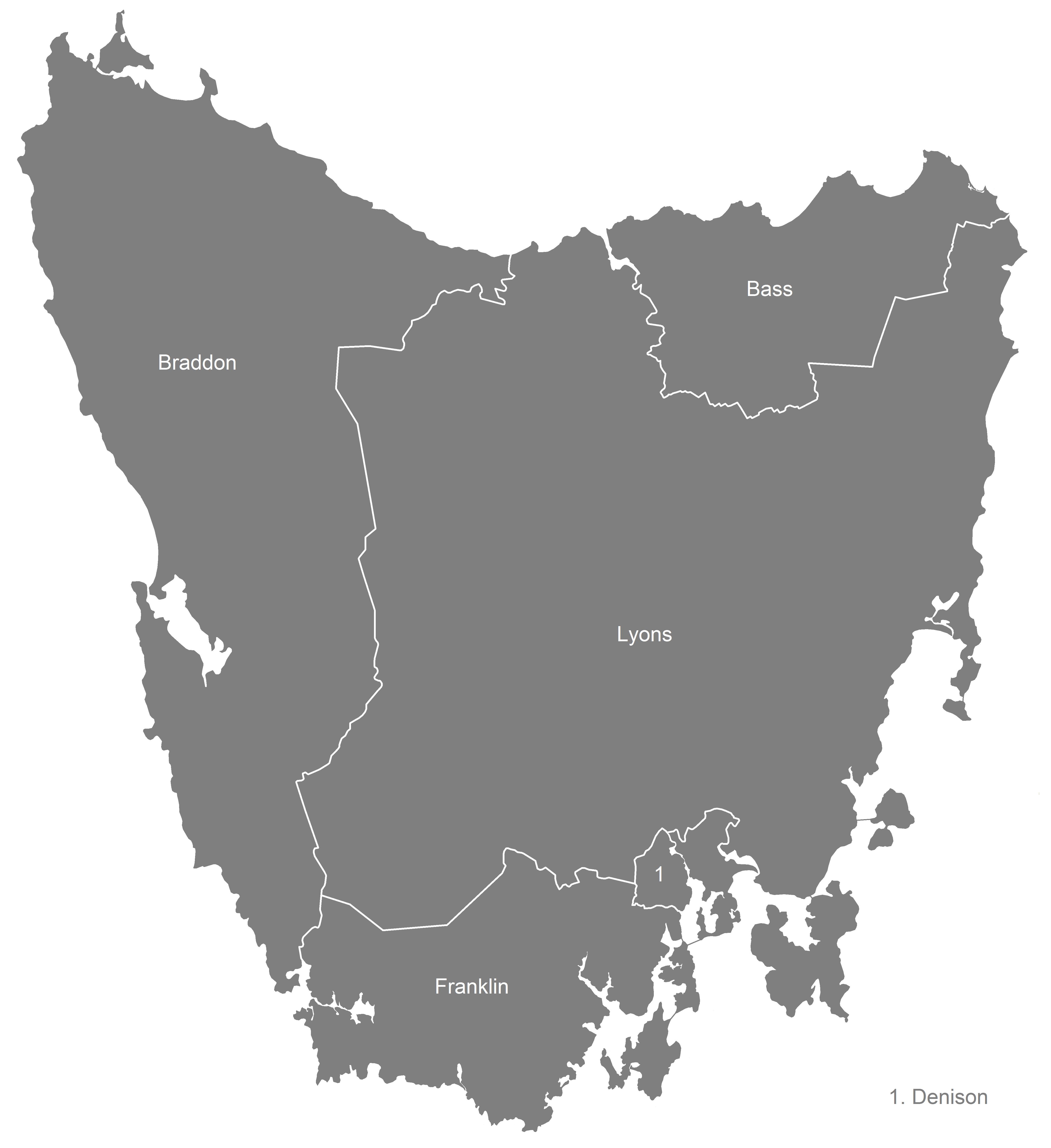 File:Australian Electoral Divisions of Tasmania, 2016 ...