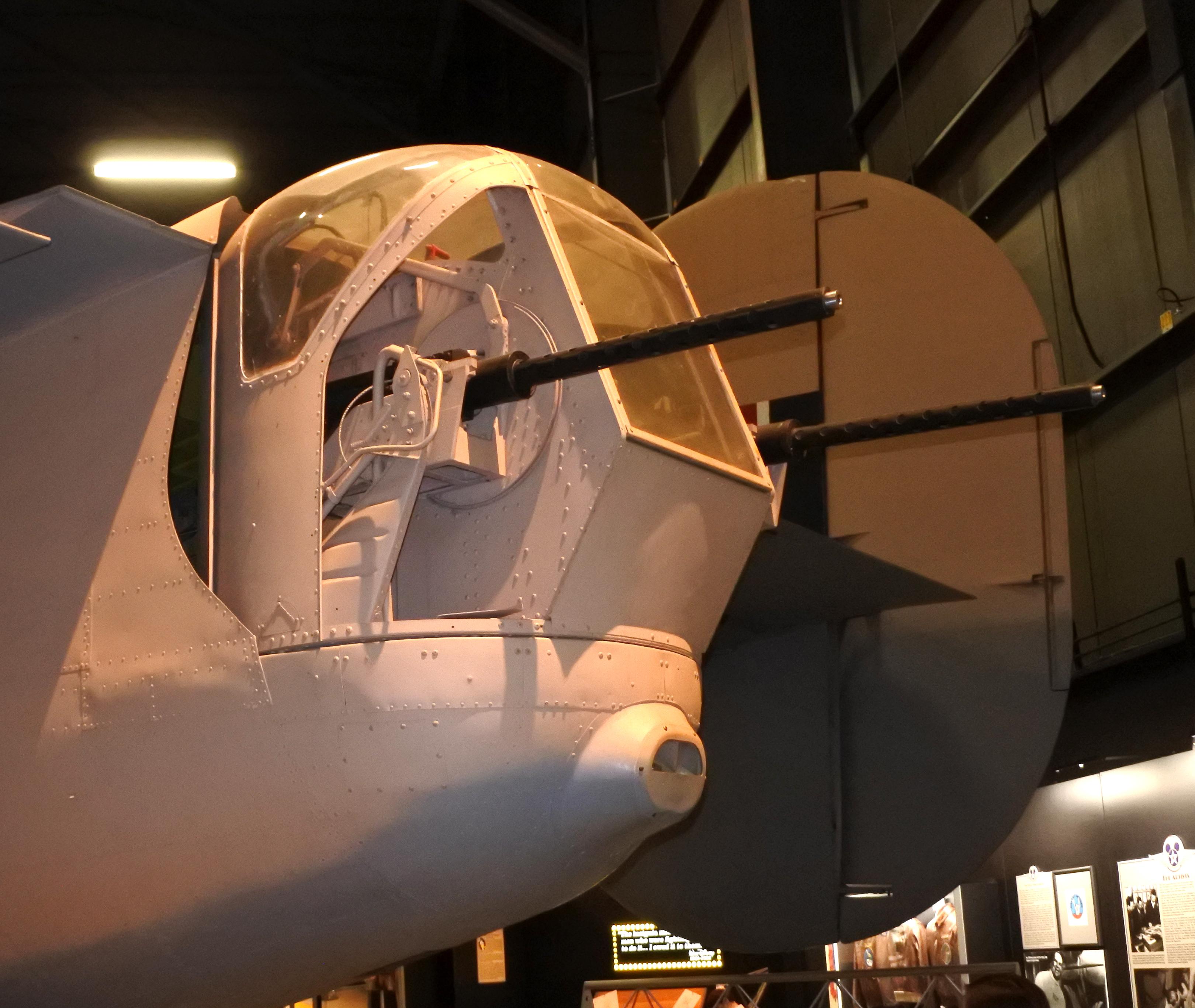 File:B-24D tail guns USAFM.jpg