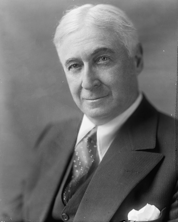 Portrait of Bernard Baruch
