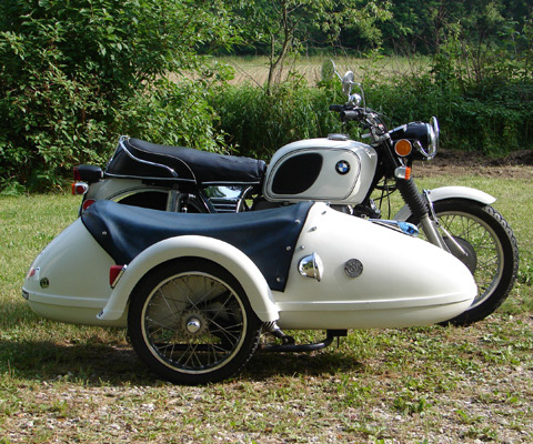 File Bmw R75 5 White Sidecar Jpg Wikimedia Commons