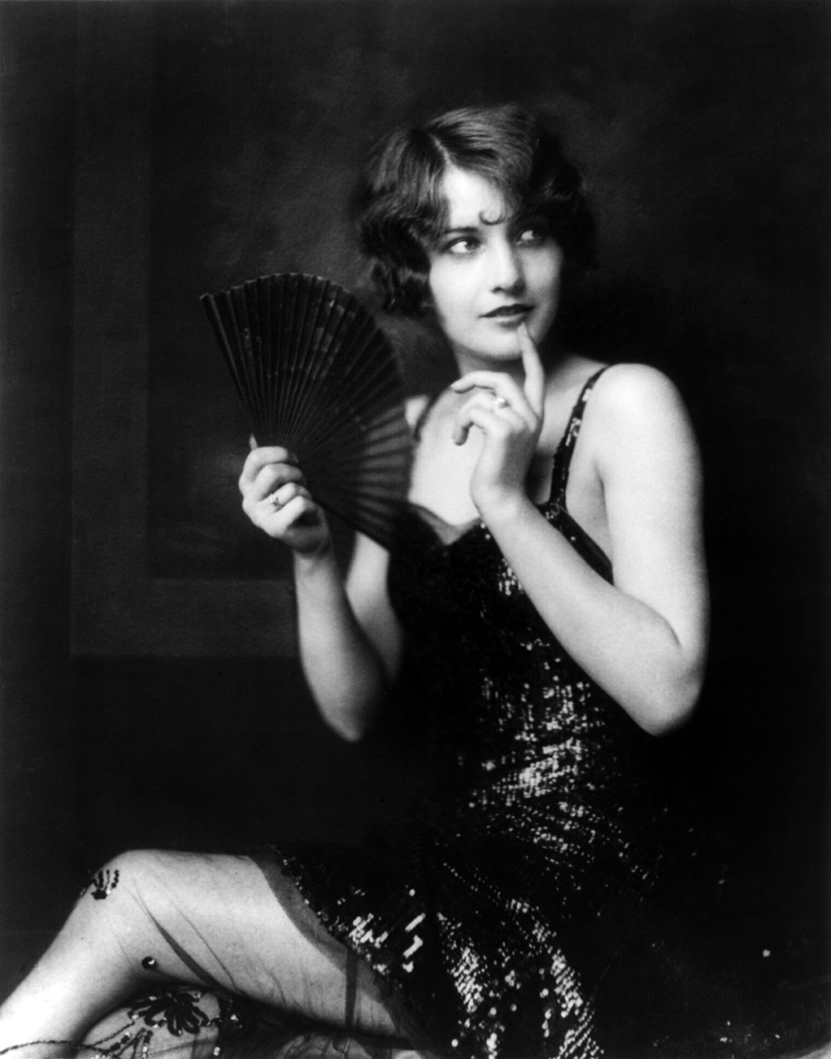 Barbara Stanwyck, Ziegfeld girl, by Alfred Cheney Johnston, ca. 1924 image via Wikimedia Commons