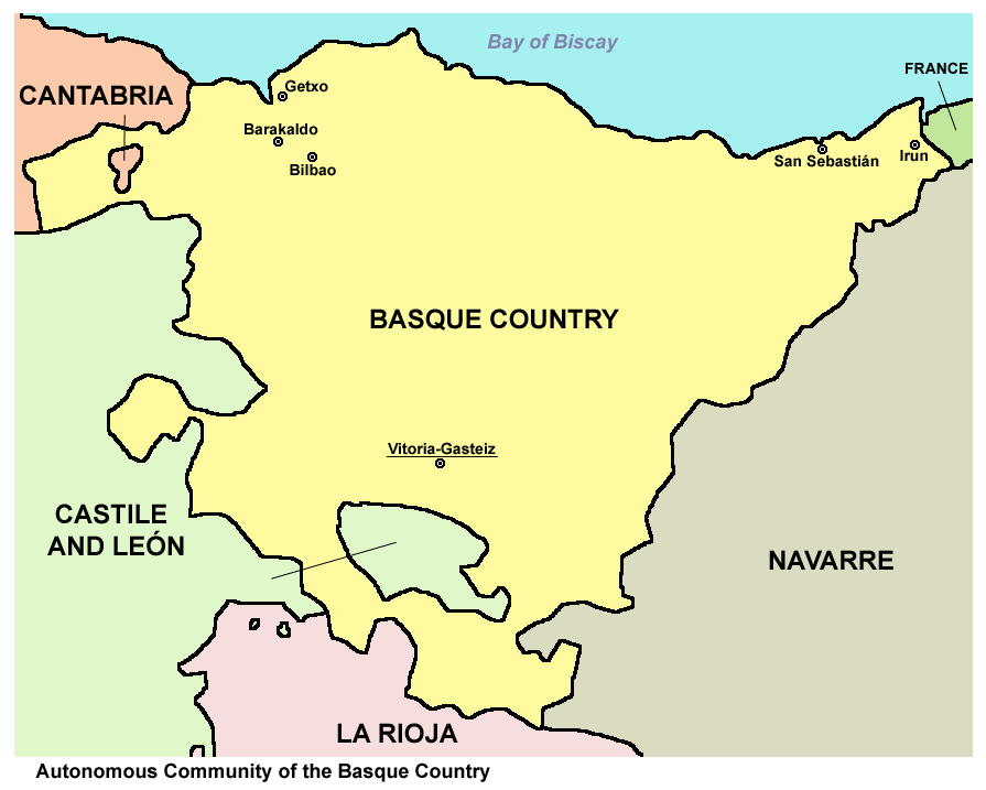 Basque France Map.File Basque Country Map Png Wikimedia Commons