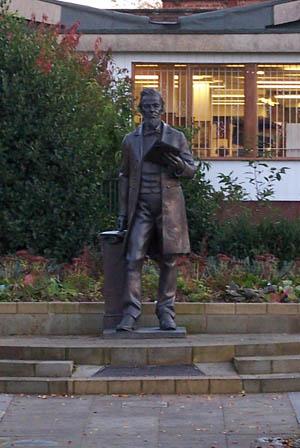 Benjamin brierley statue