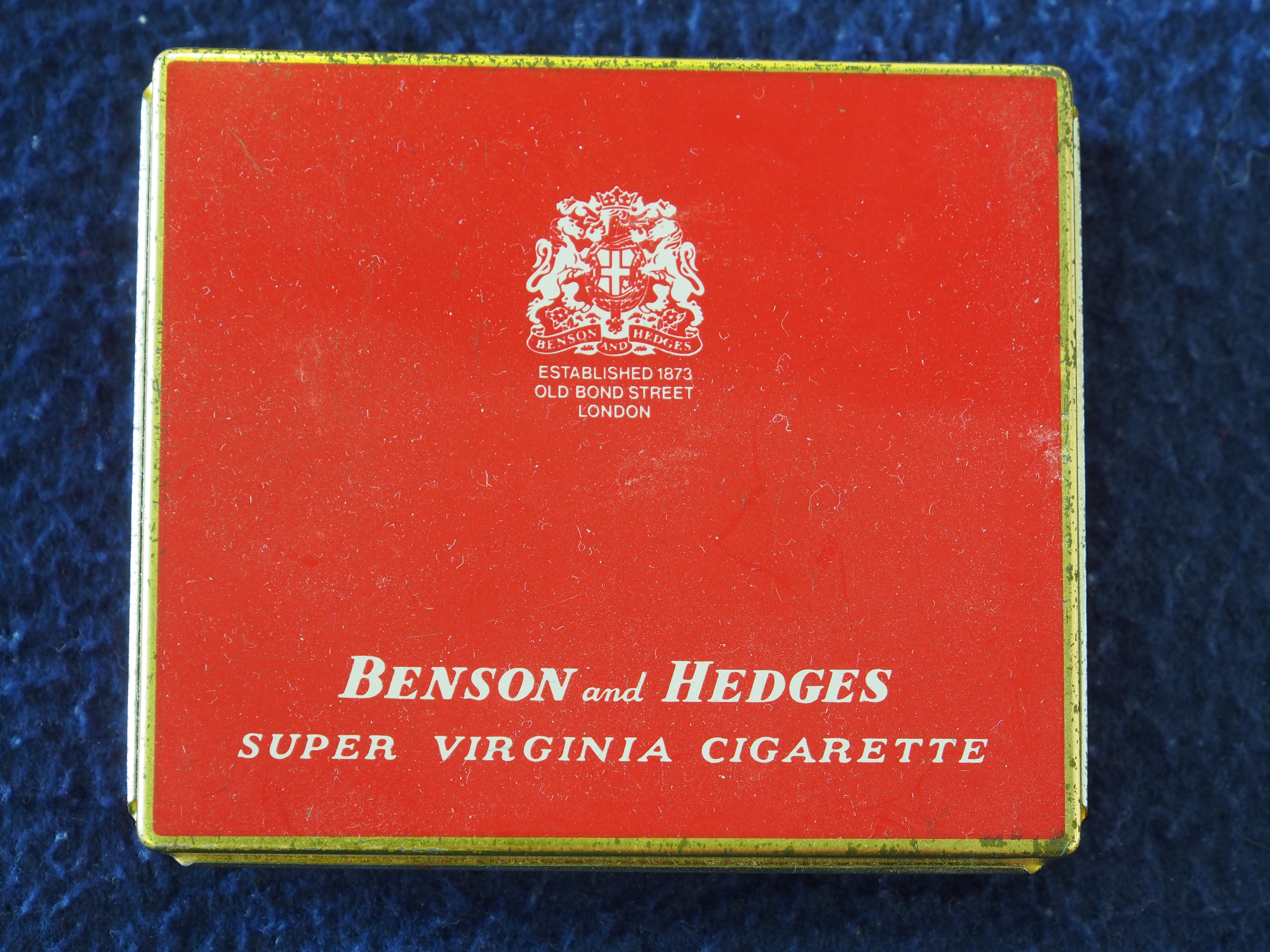 Benson and hedges super virginia cigarettes cigars local store